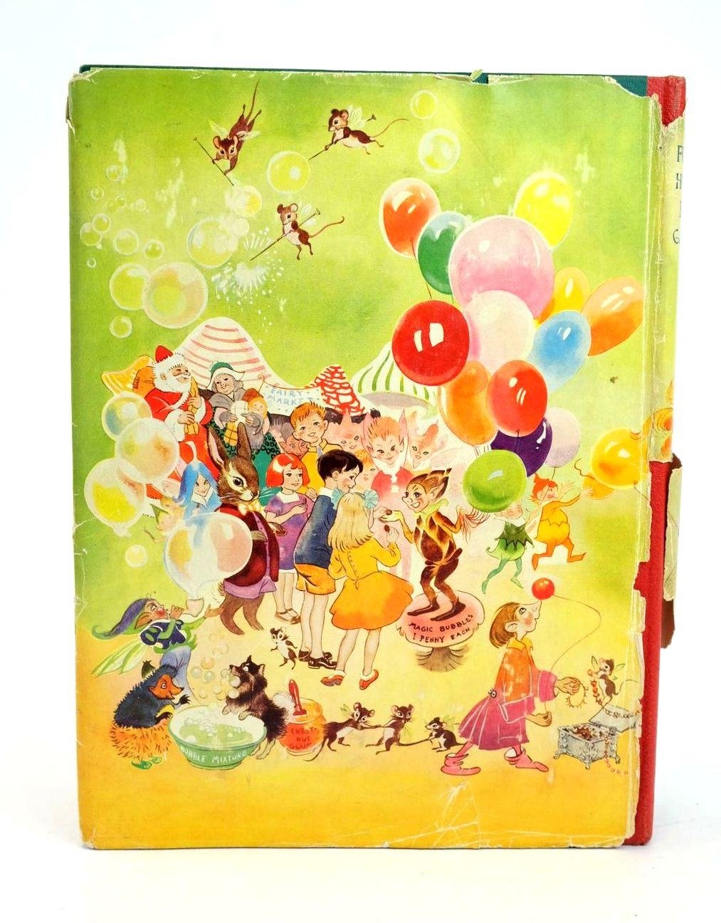 Photo of THE FOURTH HOLIDAY BOOK written by Blyton, Enid illustrated by Boswell, Hilda et al.,  published by Sampson Low, Marston & Co. Ltd. (STOCK CODE: 1319031)  for sale by Stella & Rose's Books