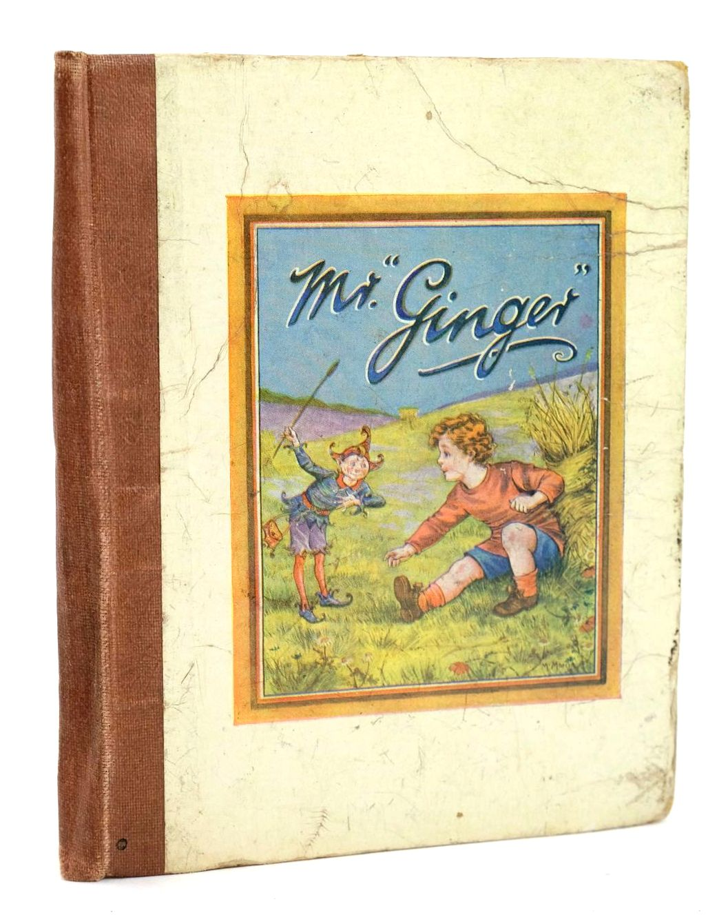 """Photo of THE STORY OF """"MR. GINGER"""" illustrated by Morris, M. Pearce, Thirkell published by Warrillows Ltd. (STOCK CODE: 1319036)  for sale by Stella & Rose's Books"""