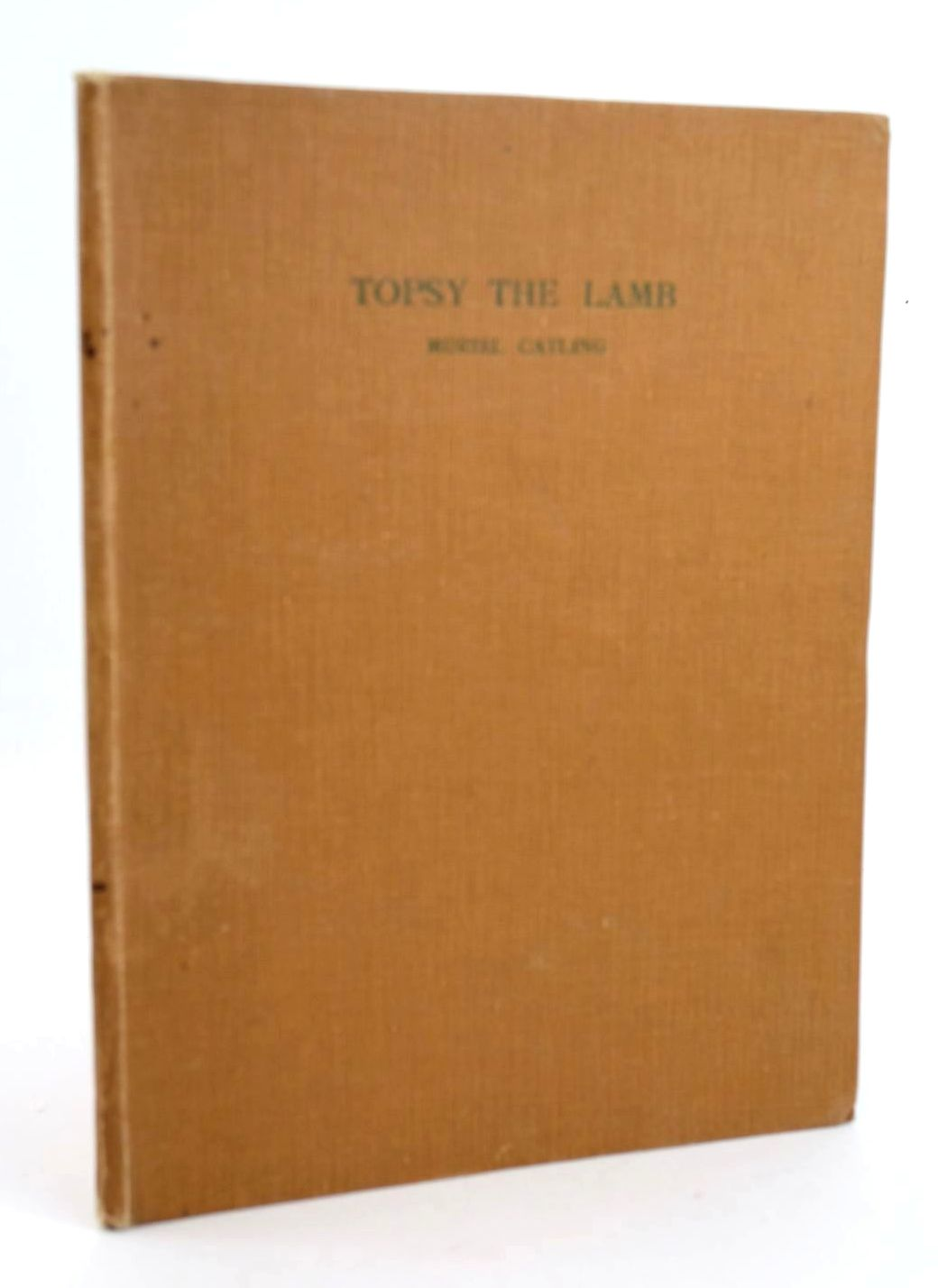 Photo of TOPSY THE AUTOBIOGRAPHY OF A WINTER LAMB- Stock Number: 1319066