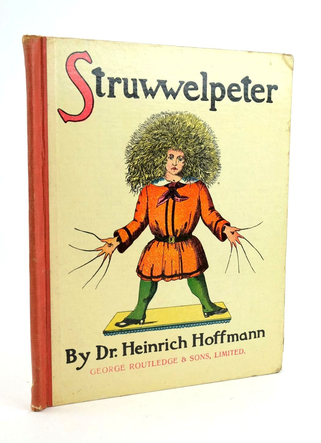 Photo of STRUWWELPETER written by Hoffmann, Heinrich published by George Routledge and Sons Limited (STOCK CODE: 1319068)  for sale by Stella & Rose's Books
