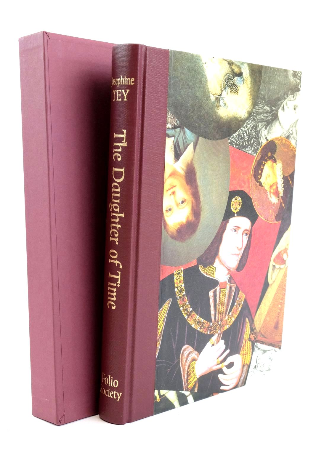 Photo of THE DAUGHTER OF TIME written by Tey, Josephine illustrated by Weller, Lucy published by Folio Society (STOCK CODE: 1319079)  for sale by Stella & Rose's Books