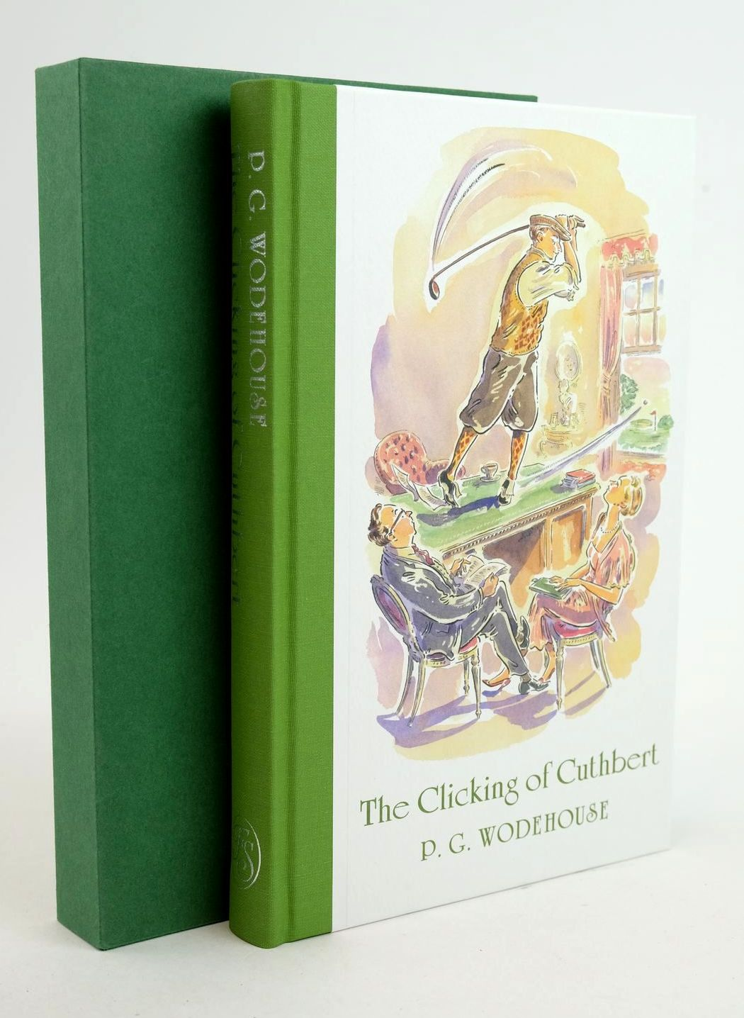 Photo of THE CLICKING OF CUTHBERT written by Wodehouse, P.G. Donegan, Lawrence illustrated by Cox, Paul published by Folio Society (STOCK CODE: 1319082)  for sale by Stella & Rose's Books