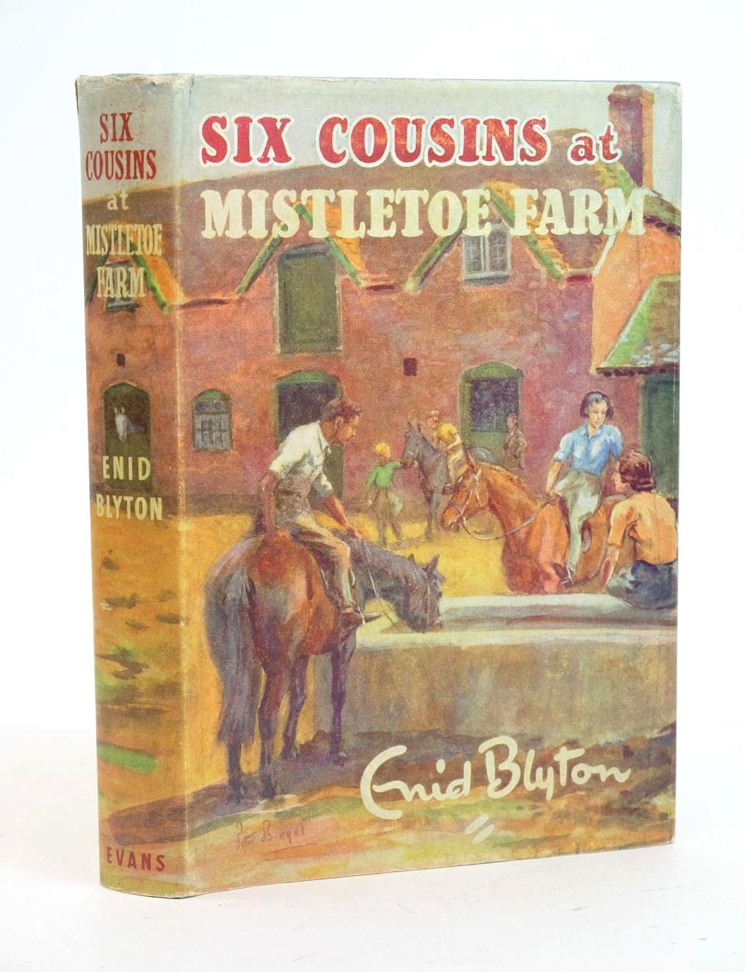 Photo of SIX COUSINS AT MISTLETOE FARM- Stock Number: 1319092