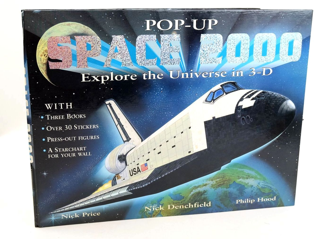 Photo of POP-UP SPACE 2000 illustrated by Hood, Philip Price, Nick published by Ted Smart (STOCK CODE: 1319102)  for sale by Stella & Rose's Books