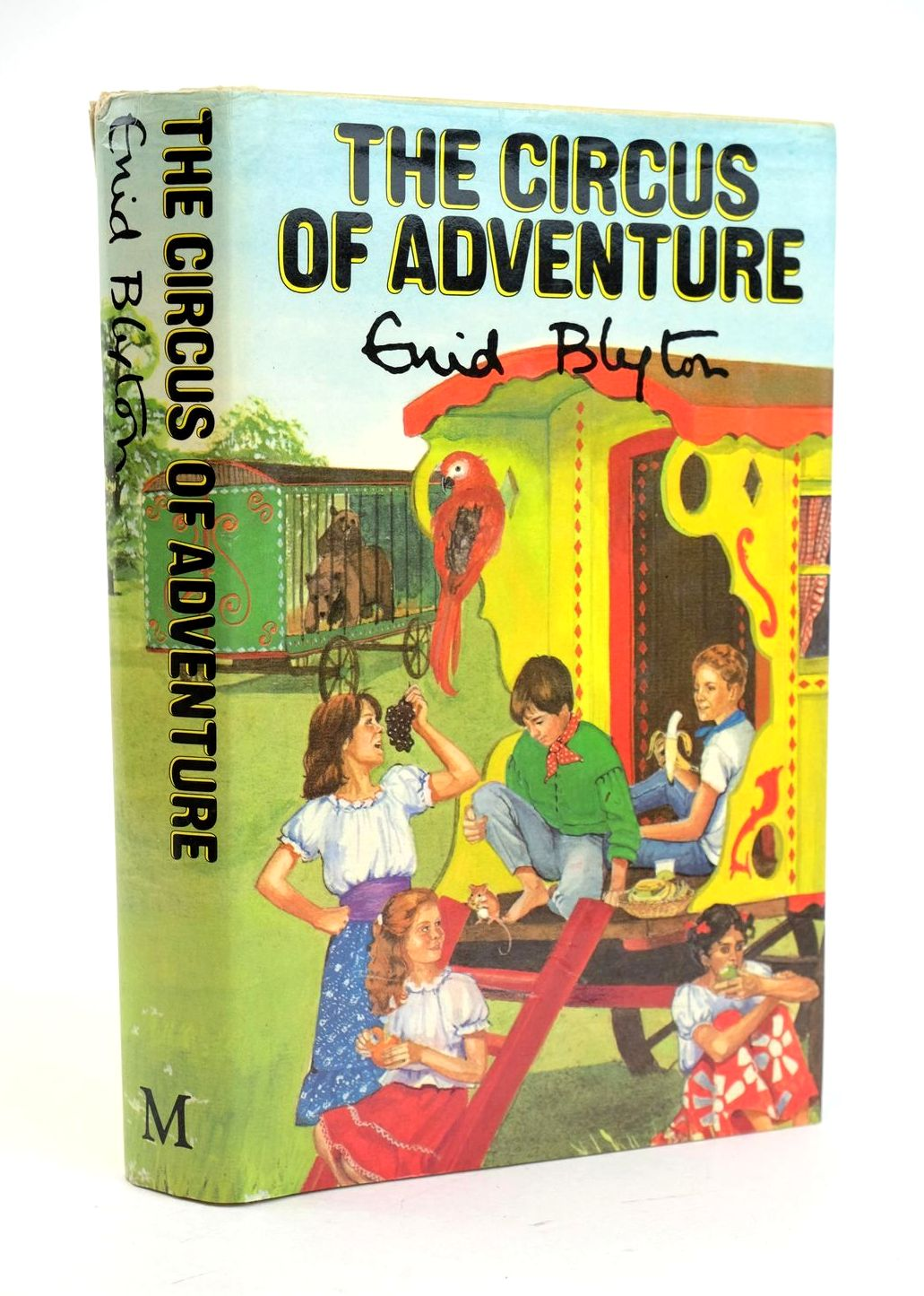 Photo of THE CIRCUS OF ADVENTURE written by Blyton, Enid illustrated by Tresilian, Stuart published by Macmillan & Co. Ltd. (STOCK CODE: 1319112)  for sale by Stella & Rose's Books