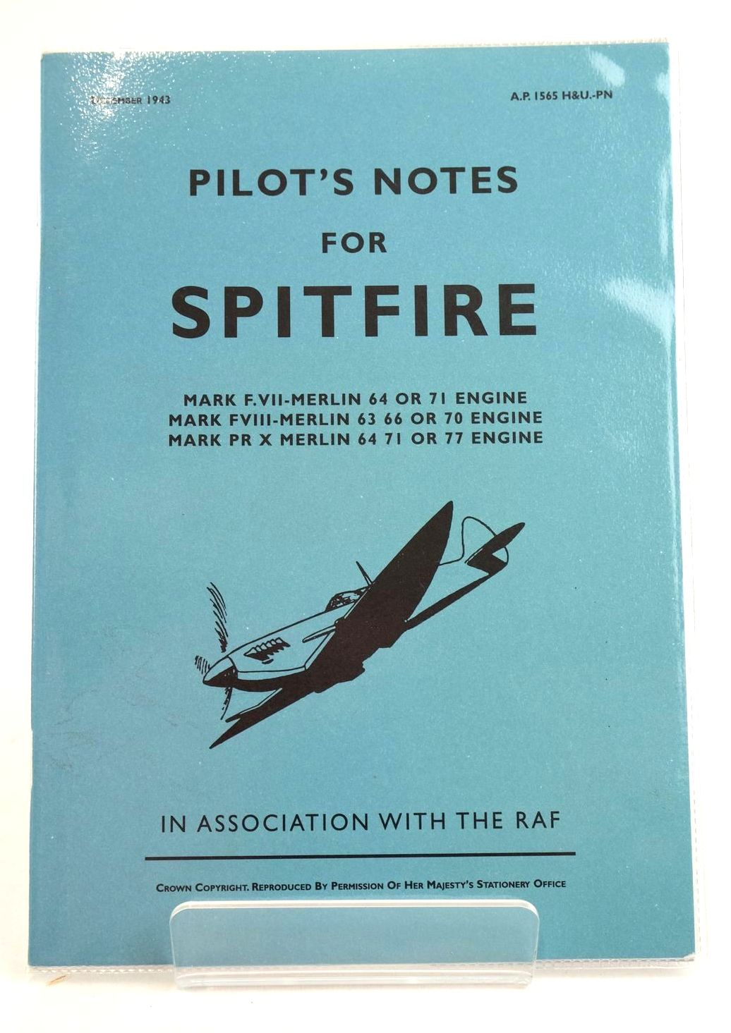 Photo of PILOT'S NOTES FOR THE SPITFIRE- Stock Number: 1319126