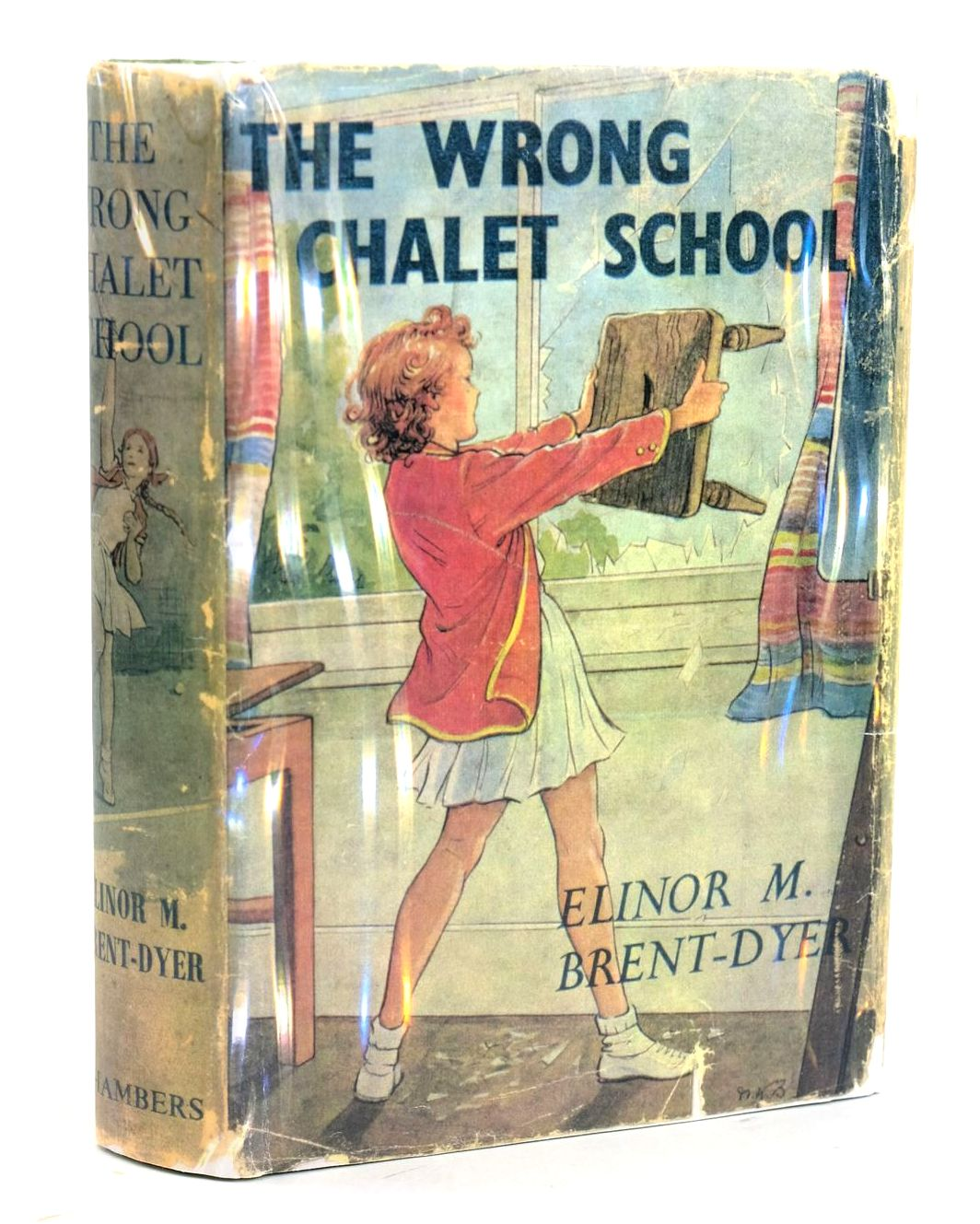 Photo of THE WRONG CHALET SCHOOL written by Brent-Dyer, Elinor M. illustrated by Brisley, Nina K. published by W. & R. Chambers Limited (STOCK CODE: 1319150)  for sale by Stella & Rose's Books