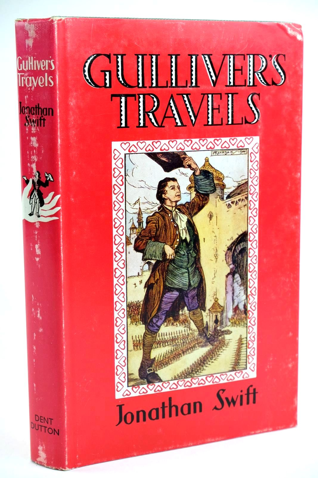 Photo of GULLIVER'S TRAVELS written by Swift, Jonathan illustrated by Rackham, Arthur published by J.M. Dent & Sons Ltd. (STOCK CODE: 1319185)  for sale by Stella & Rose's Books