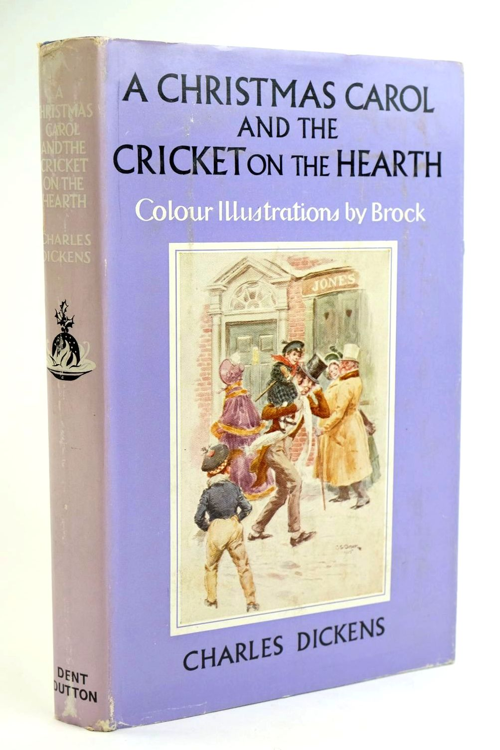 Photo of A CHRISTMAS CAROL AND THE CRICKET ON THE HEARTH- Stock Number: 1319186