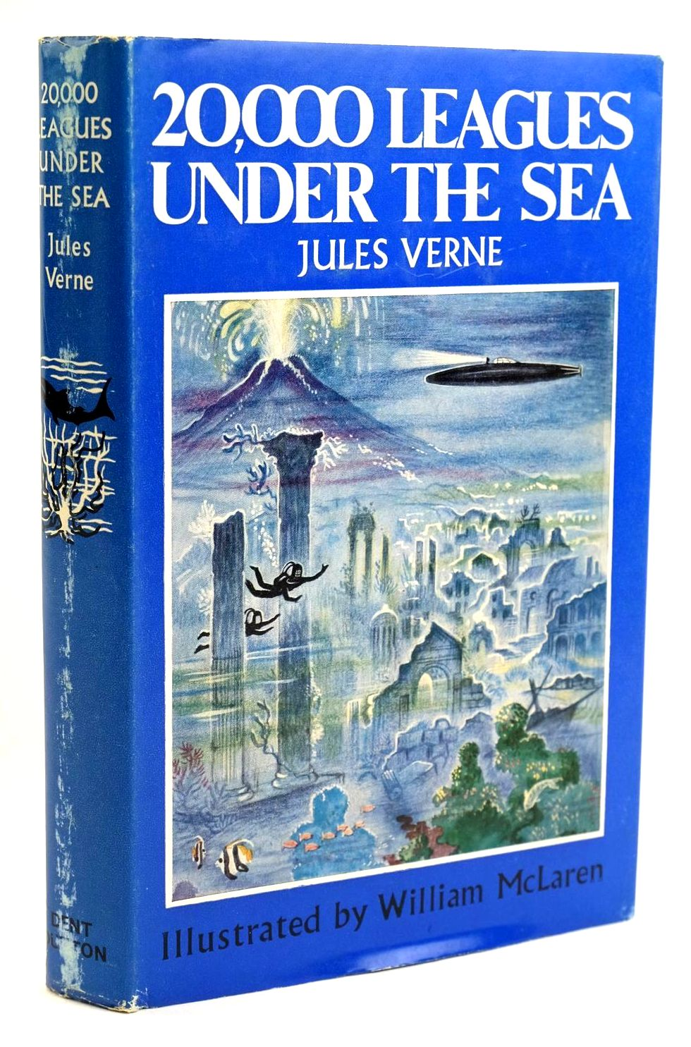 Photo of TWENTY THOUSAND LEAGUES UNDER THE SEA written by Verne, Jules illustrated by McLaren, William published by J.M. Dent & Sons Ltd. (STOCK CODE: 1319187)  for sale by Stella & Rose's Books