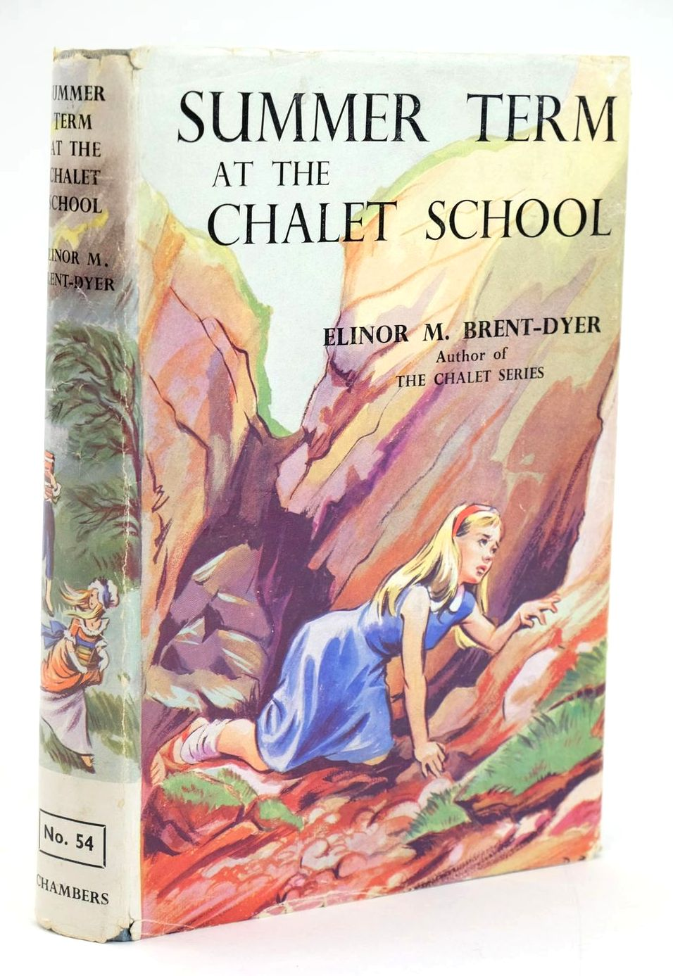 Photo of SUMMER TERM AT THE CHALET SCHOOL written by Brent-Dyer, Elinor M. illustrated by Brook, D. published by W. & R. Chambers Limited (STOCK CODE: 1319192)  for sale by Stella & Rose's Books