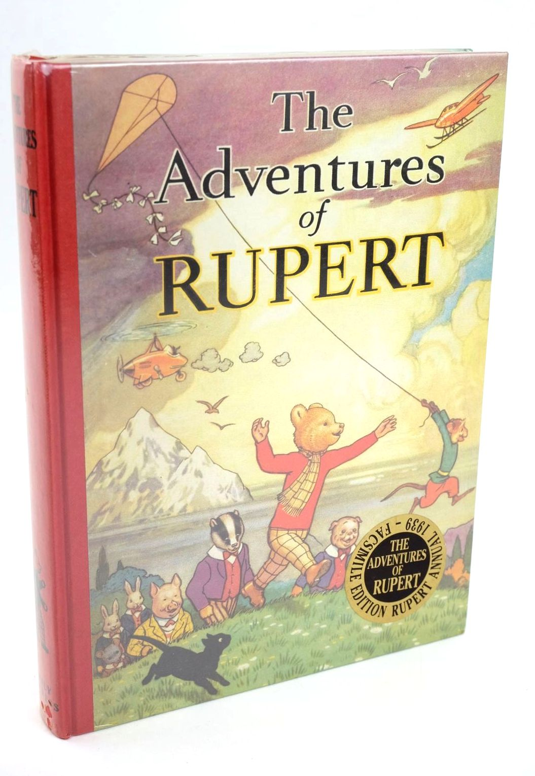 Photo of RUPERT ANNUAL 1939 (FACSIMILE) - THE ADVENTURES OF RUPERT- Stock Number: 1319201