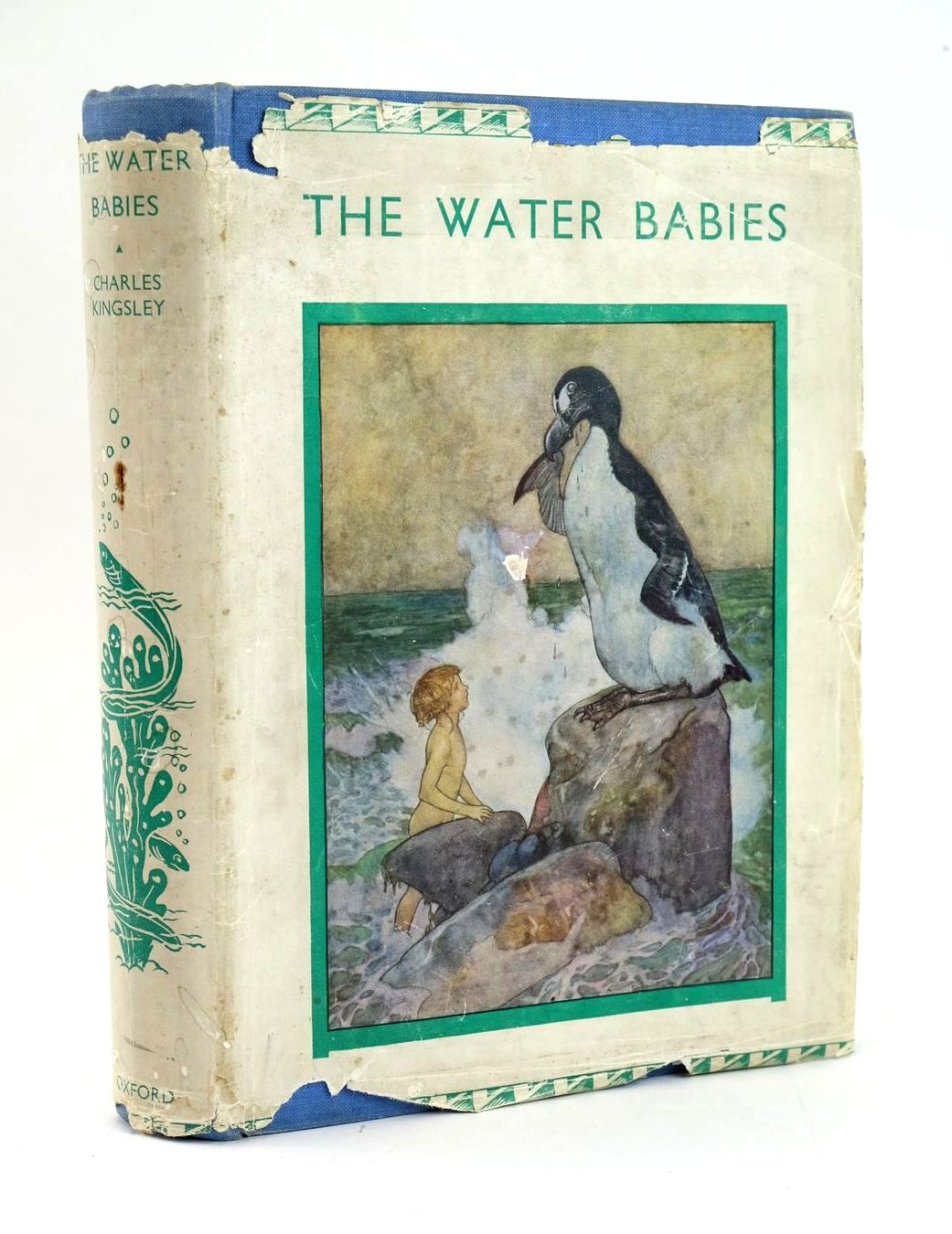 Photo of THE WATER BABIES written by Kingsley, Charles illustrated by Jackson, A.E. published by Oxford University Press, Humphrey Milford (STOCK CODE: 1319207)  for sale by Stella & Rose's Books