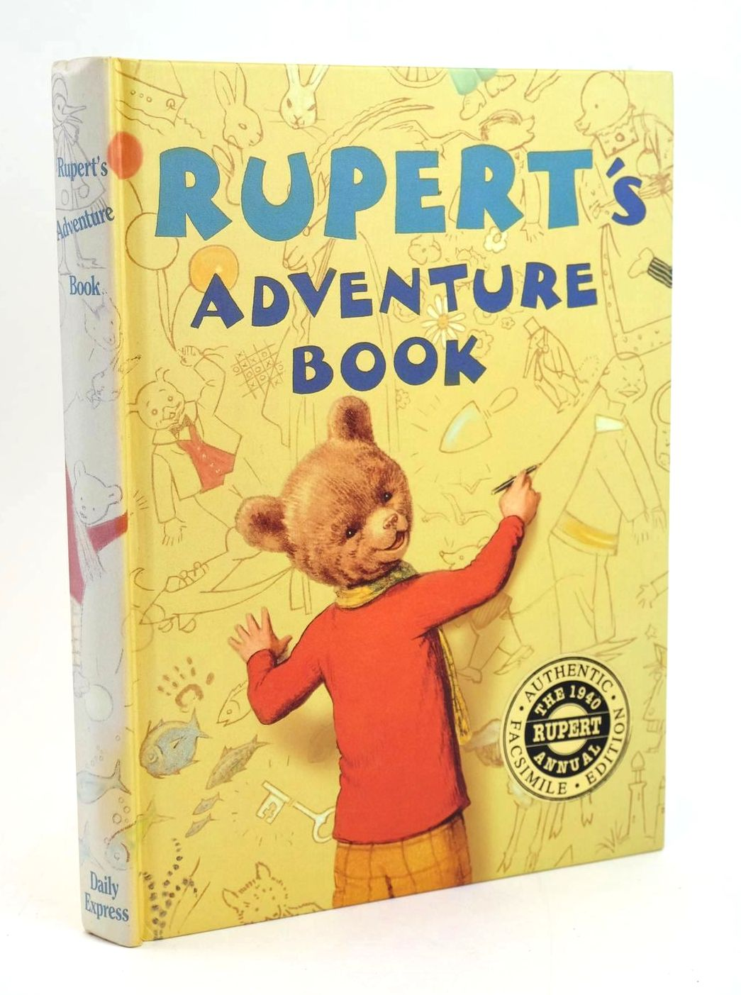Photo of RUPERT ANNUAL 1940 (FACSIMILE) - RUPERT'S ADVENTURE BOOK- Stock Number: 1319209