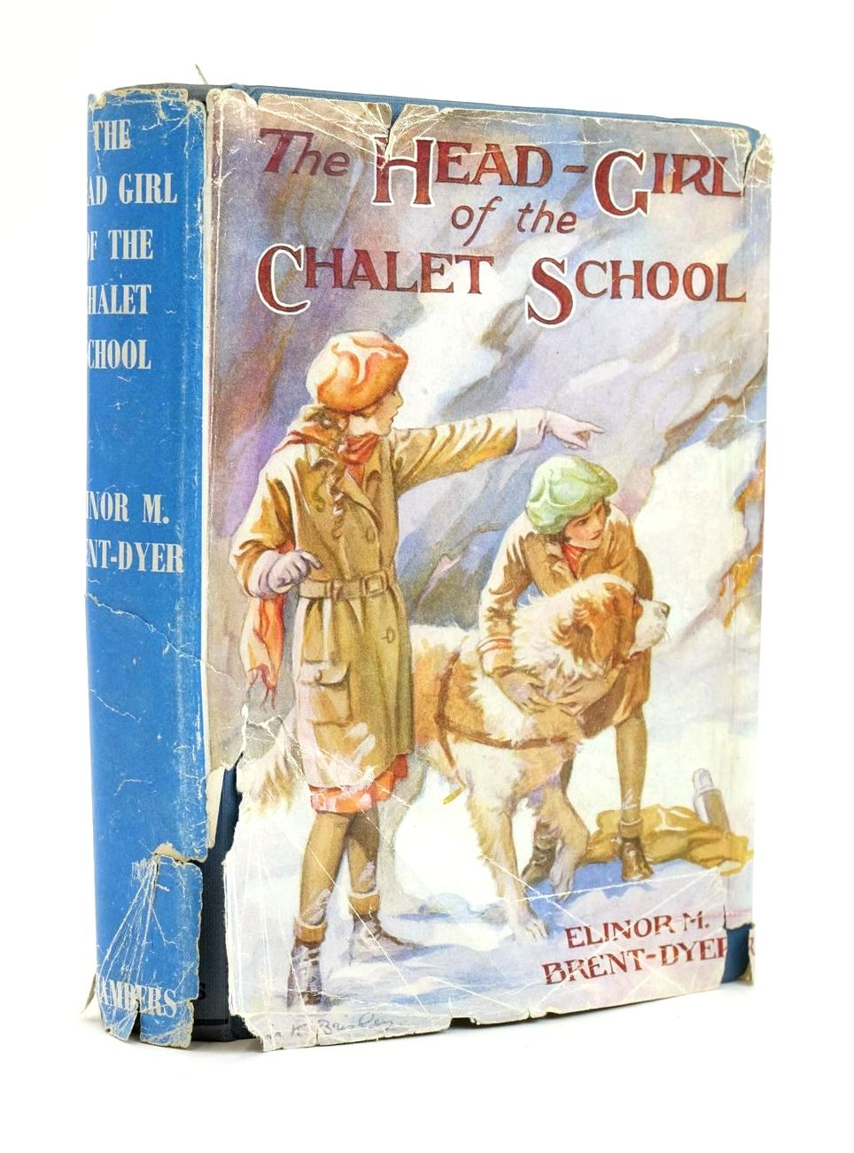 Photo of THE HEAD GIRL OF THE CHALET SCHOOL written by Brent-Dyer, Elinor M. published by W. & R. Chambers Limited (STOCK CODE: 1319214)  for sale by Stella & Rose's Books
