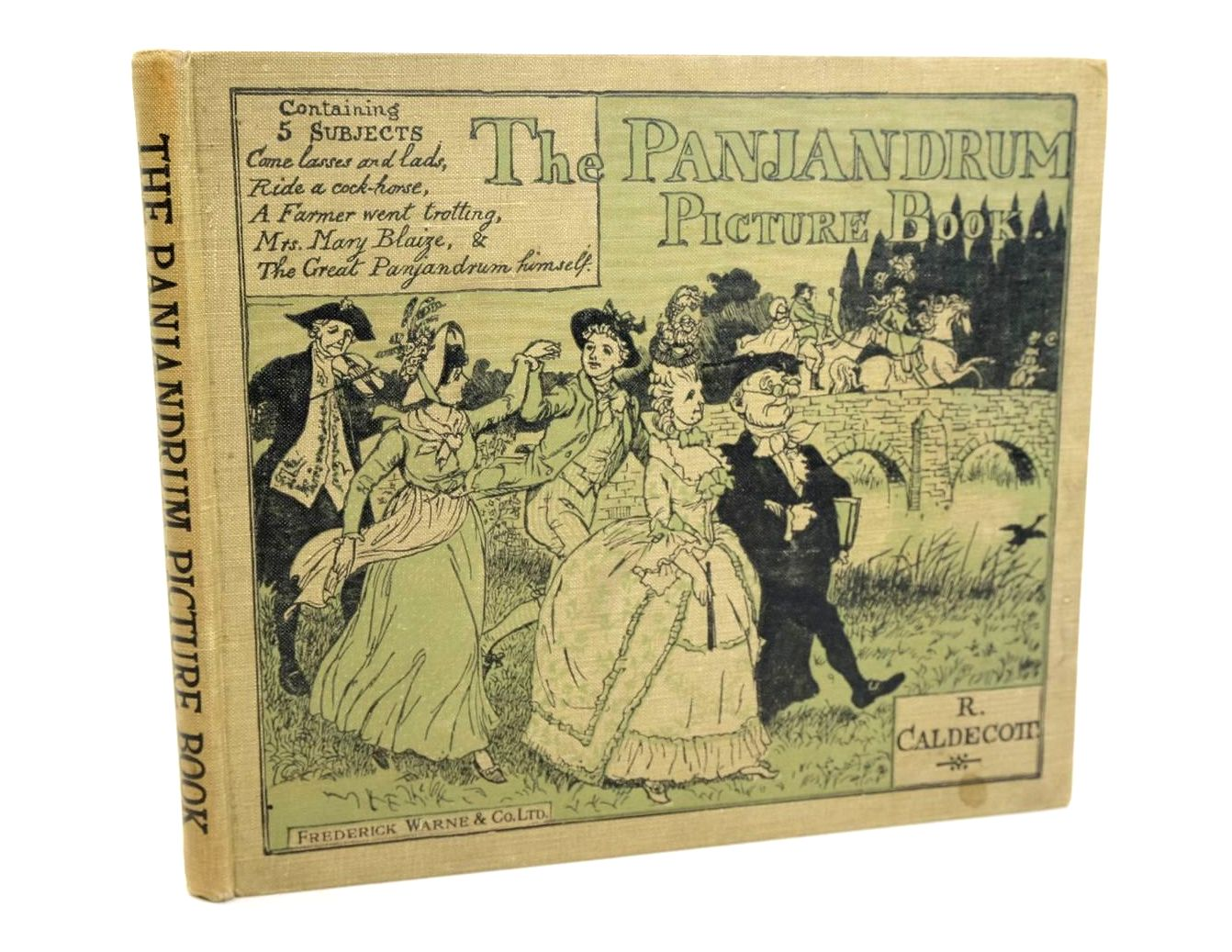 Photo of THE PANJANDRUM PICTURE BOOK illustrated by Caldecott, Randolph published by Frederick Warne & Co Ltd. (STOCK CODE: 1319226)  for sale by Stella & Rose's Books