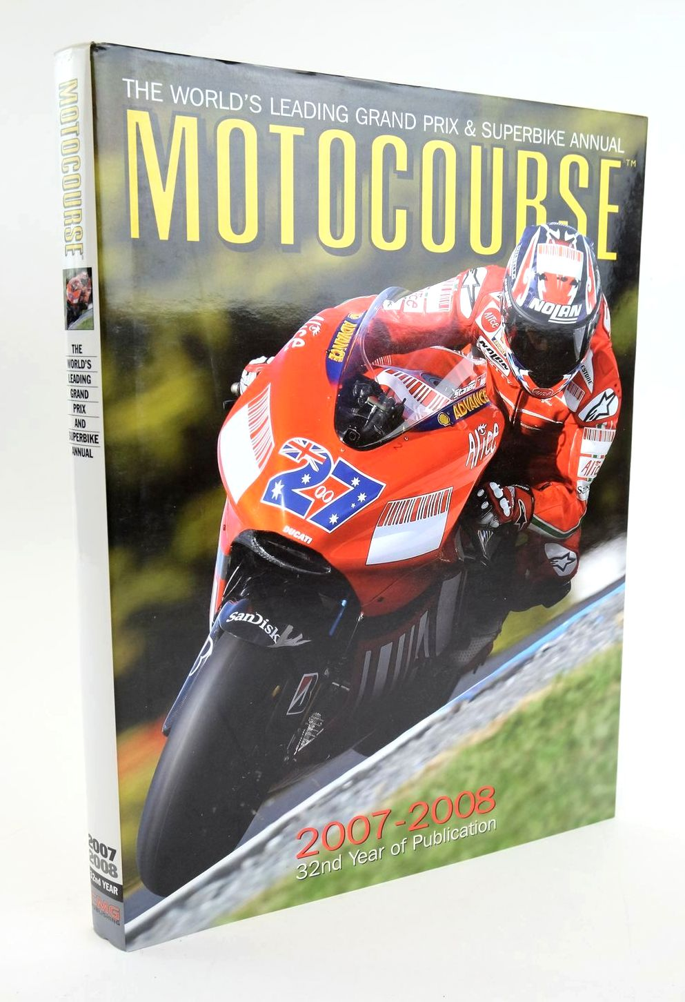 Photo of MOTOCOURSE 2007-2008 published by CMG Publishing (STOCK CODE: 1319235)  for sale by Stella & Rose's Books
