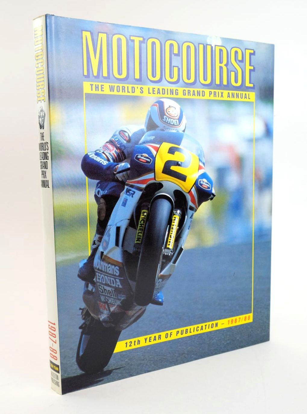 Photo of MOTOCOURSE 1987-88 published by Hazleton Publishing (STOCK CODE: 1319238)  for sale by Stella & Rose's Books