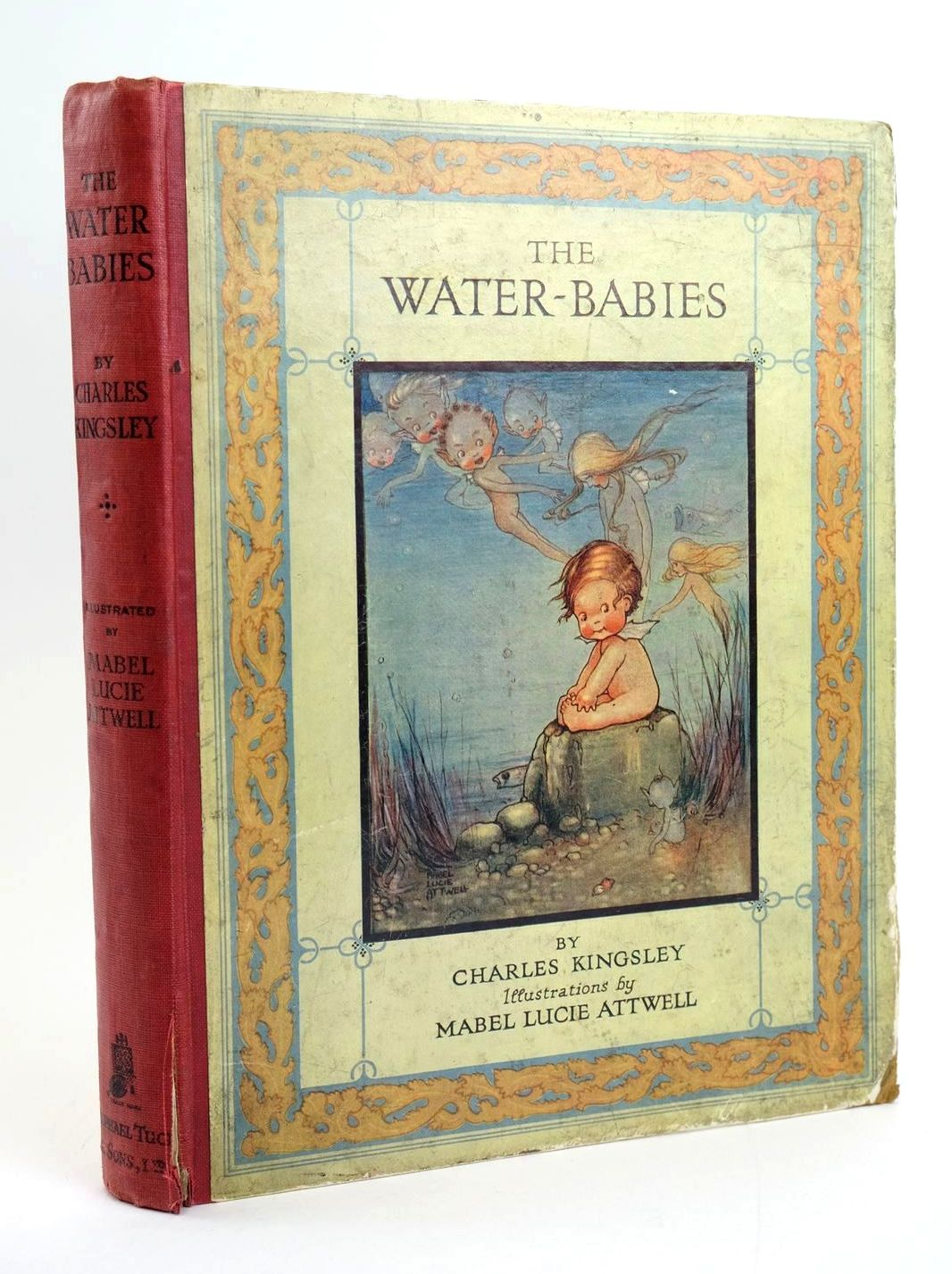 Photo of THE WATER BABIES written by Kingsley, Charles illustrated by Attwell, Mabel Lucie published by Raphael Tuck & Sons Ltd. (STOCK CODE: 1319245)  for sale by Stella & Rose's Books