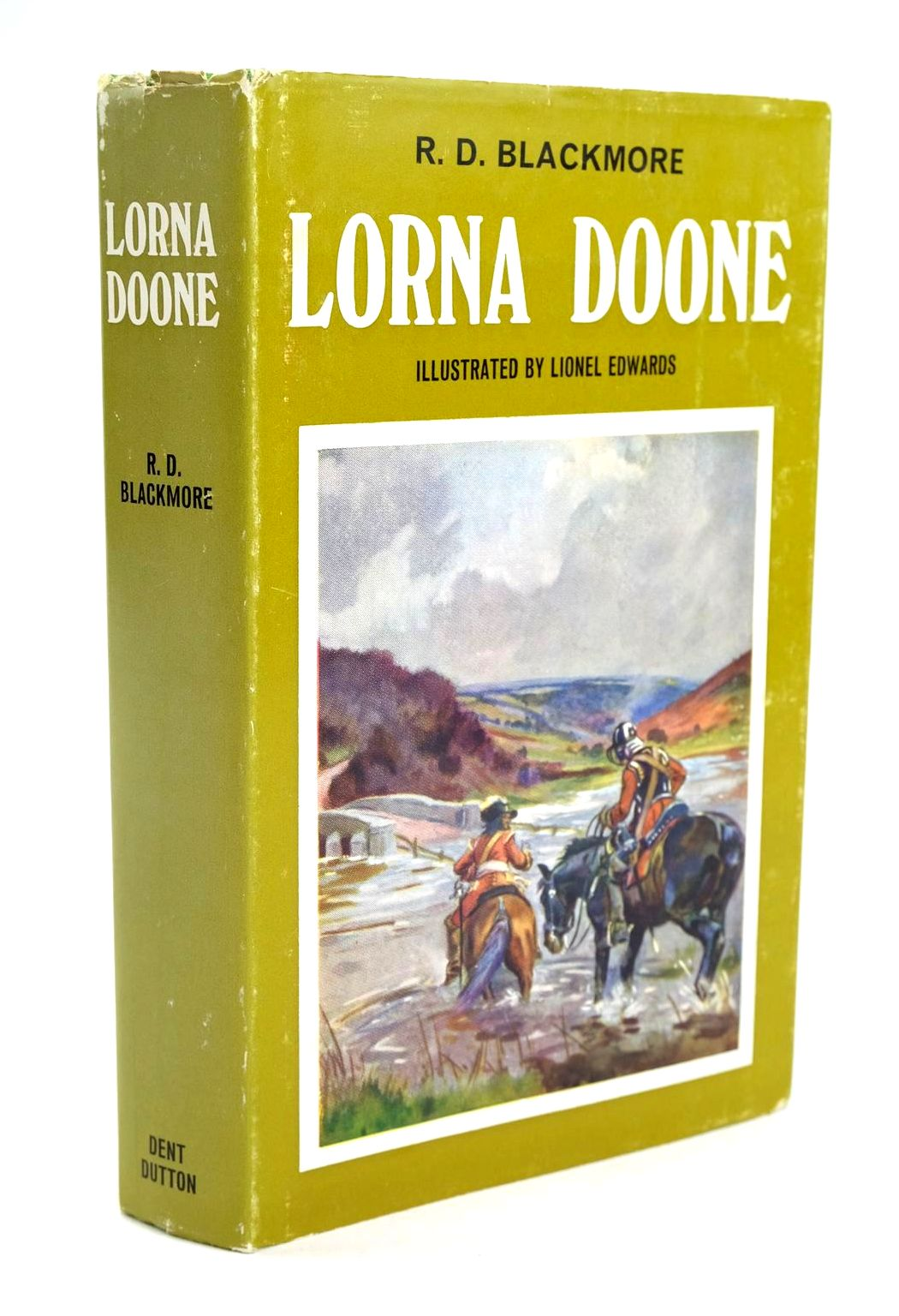Photo of LORNA DOONE written by Blackmore, R.D. illustrated by Edwards, Lionel published by J.M. Dent & Sons Ltd. (STOCK CODE: 1319249)  for sale by Stella & Rose's Books