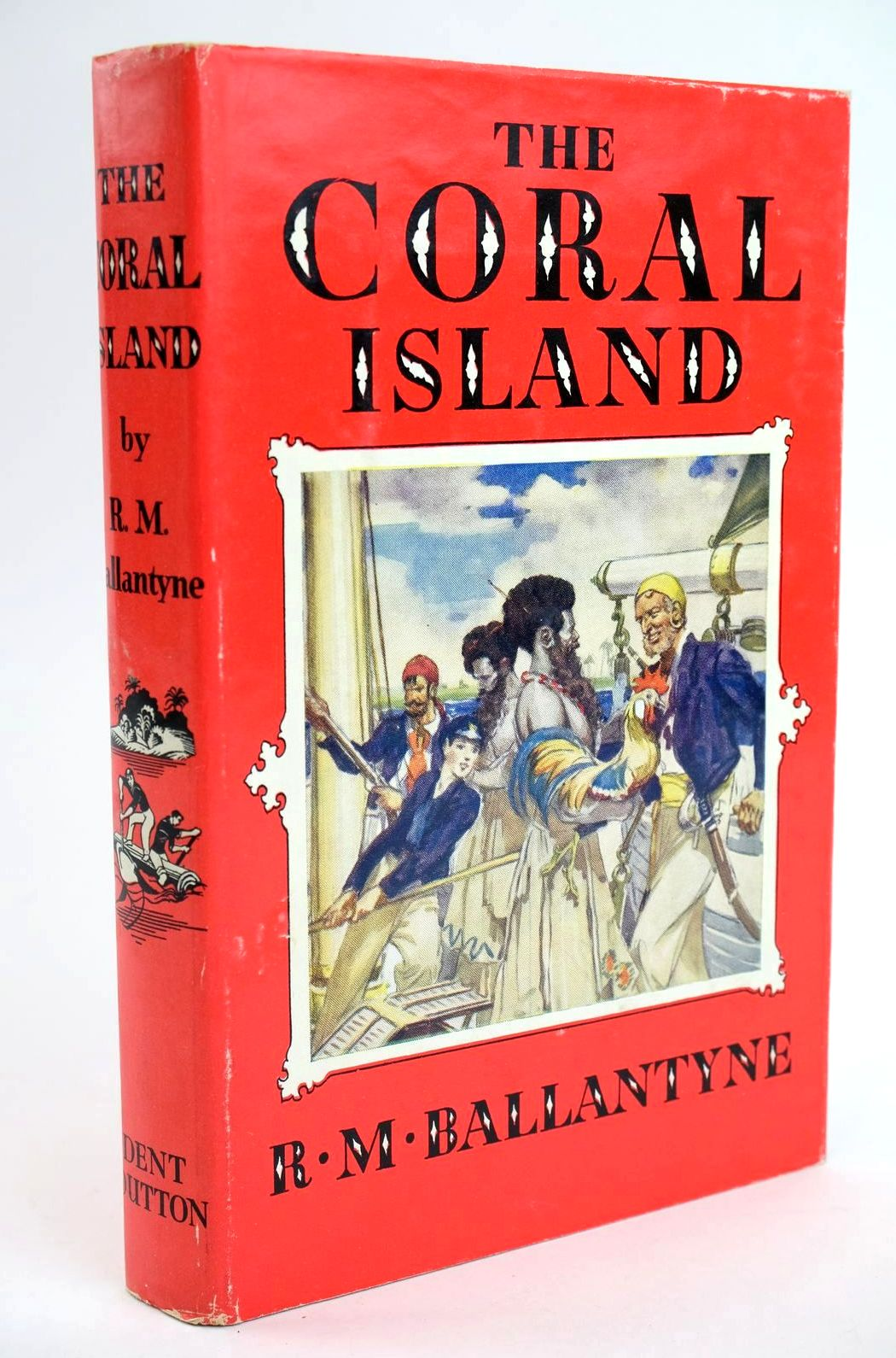 Photo of THE CORAL ISLAND written by Ballantyne, R.M. illustrated by Bates, Leo published by J.M. Dent & Sons Ltd., E.P. Dutton & Co. Inc. (STOCK CODE: 1319252)  for sale by Stella & Rose's Books