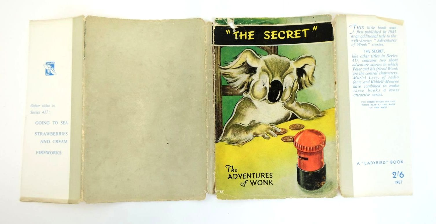 Photo of THE ADVENTURES OF WONK - THE SECRET written by Levy, Muriel illustrated by Kiddell-Monroe, Joan published by Wills & Hepworth Ltd. (STOCK CODE: 1319262)  for sale by Stella & Rose's Books