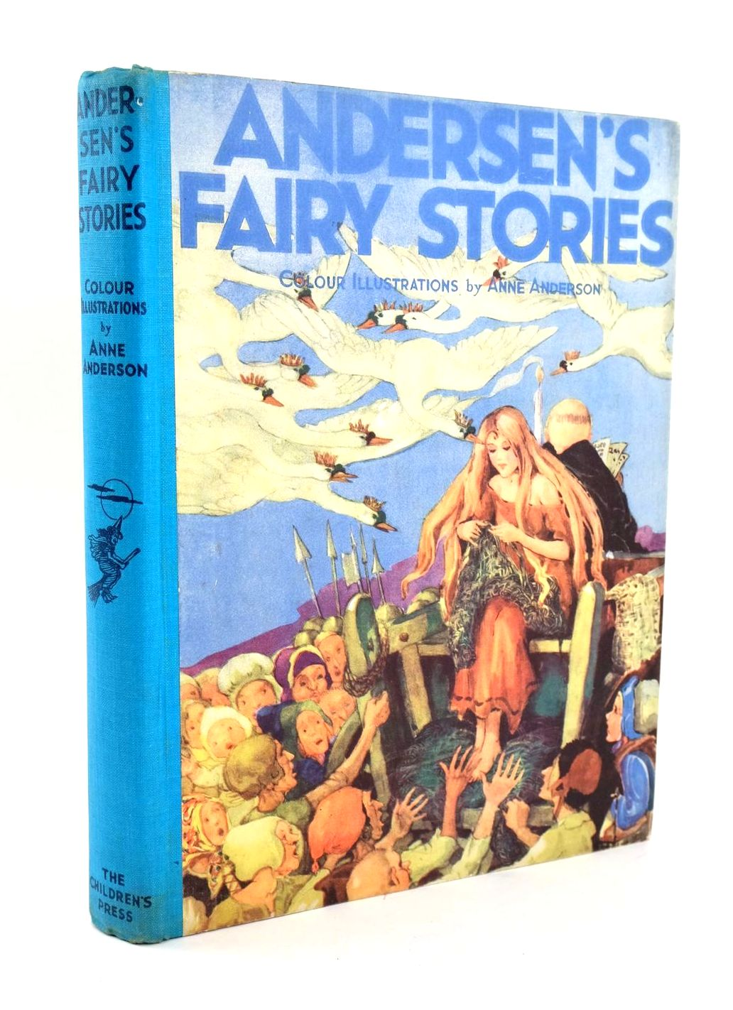Photo of ANDERSEN'S FAIRY STORIES written by Andersen, Hans Christian illustrated by Anderson, Anne published by The Children's Press (STOCK CODE: 1319263)  for sale by Stella & Rose's Books