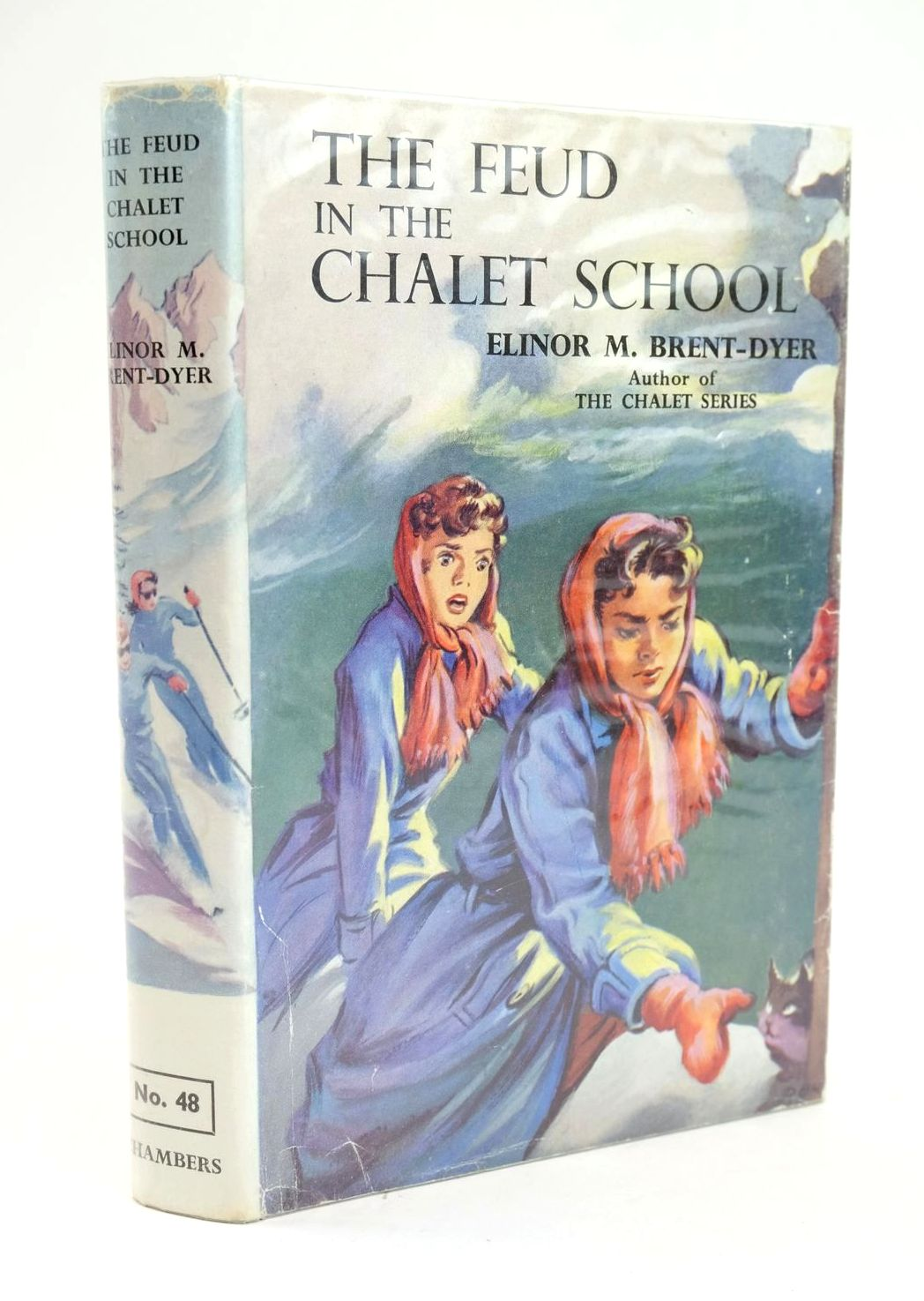 Photo of THE FEUD IN THE CHALET SCHOOL written by Brent-Dyer, Elinor M. illustrated by Brook, D. published by W. & R. Chambers Limited (STOCK CODE: 1319274)  for sale by Stella & Rose's Books