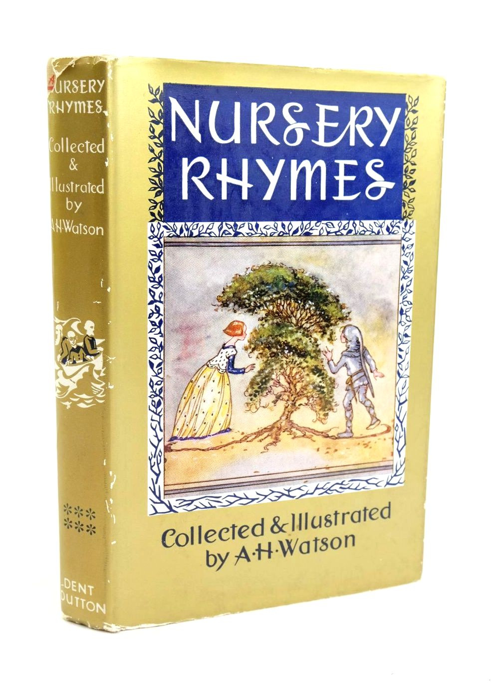 Photo of NURSERY RHYMES written by Watson, A.H. illustrated by Watson, A.H. published by J.M. Dent & Sons Ltd. (STOCK CODE: 1319279)  for sale by Stella & Rose's Books
