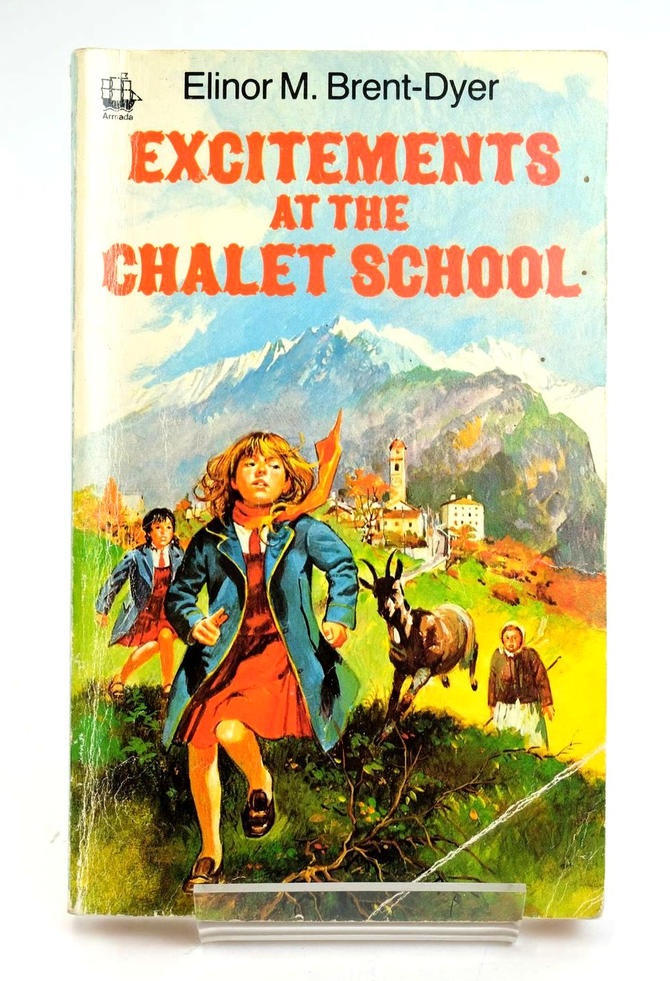 Photo of EXCITEMENTS AT THE CHALET SCHOOL- Stock Number: 1319284