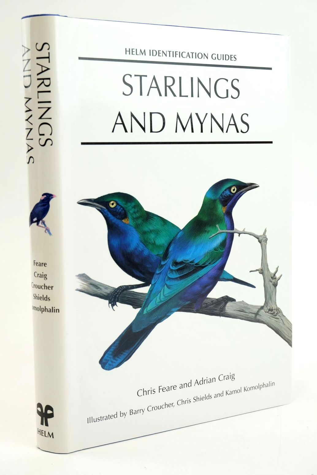 Photo of STARLINGS AND MYNAS (HELM IDENTIFICATION GUIIDES) written by Feare, Christopher J. Craig, Adrian illustrated by Croucher, Barry Shields, Chris Komolphalin, Kamol published by Christopher Helm (STOCK CODE: 1319291)  for sale by Stella & Rose's Books