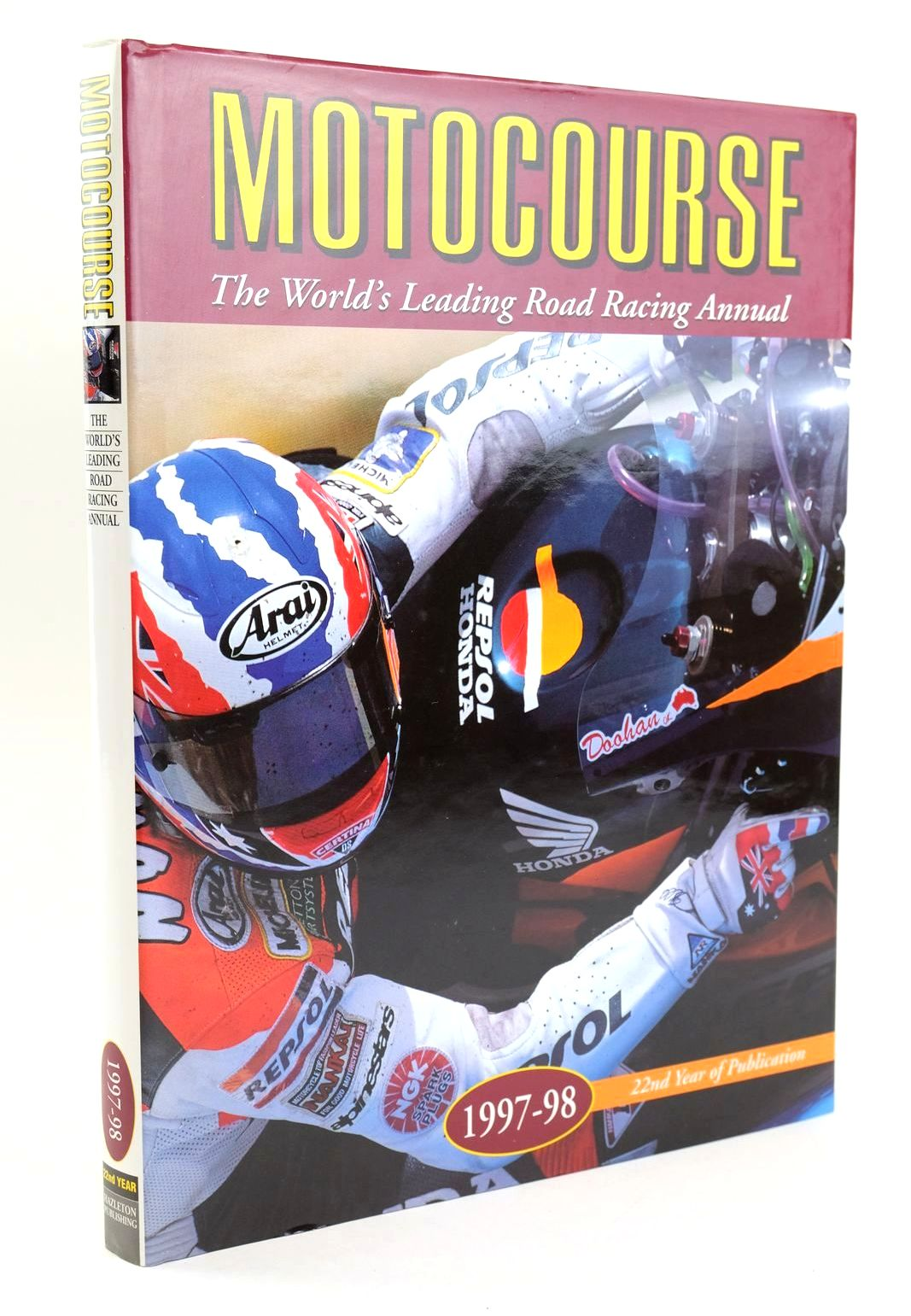 Photo of MOTOCOURSE 1997-98 published by Hazleton Publishing (STOCK CODE: 1319323)  for sale by Stella & Rose's Books