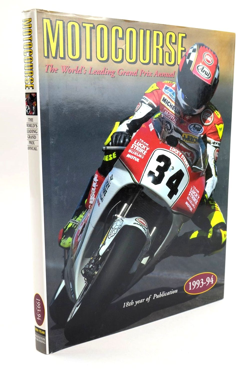 Photo of MOTOCOURSE 1993-94 published by Hazleton Publishing (STOCK CODE: 1319328)  for sale by Stella & Rose's Books