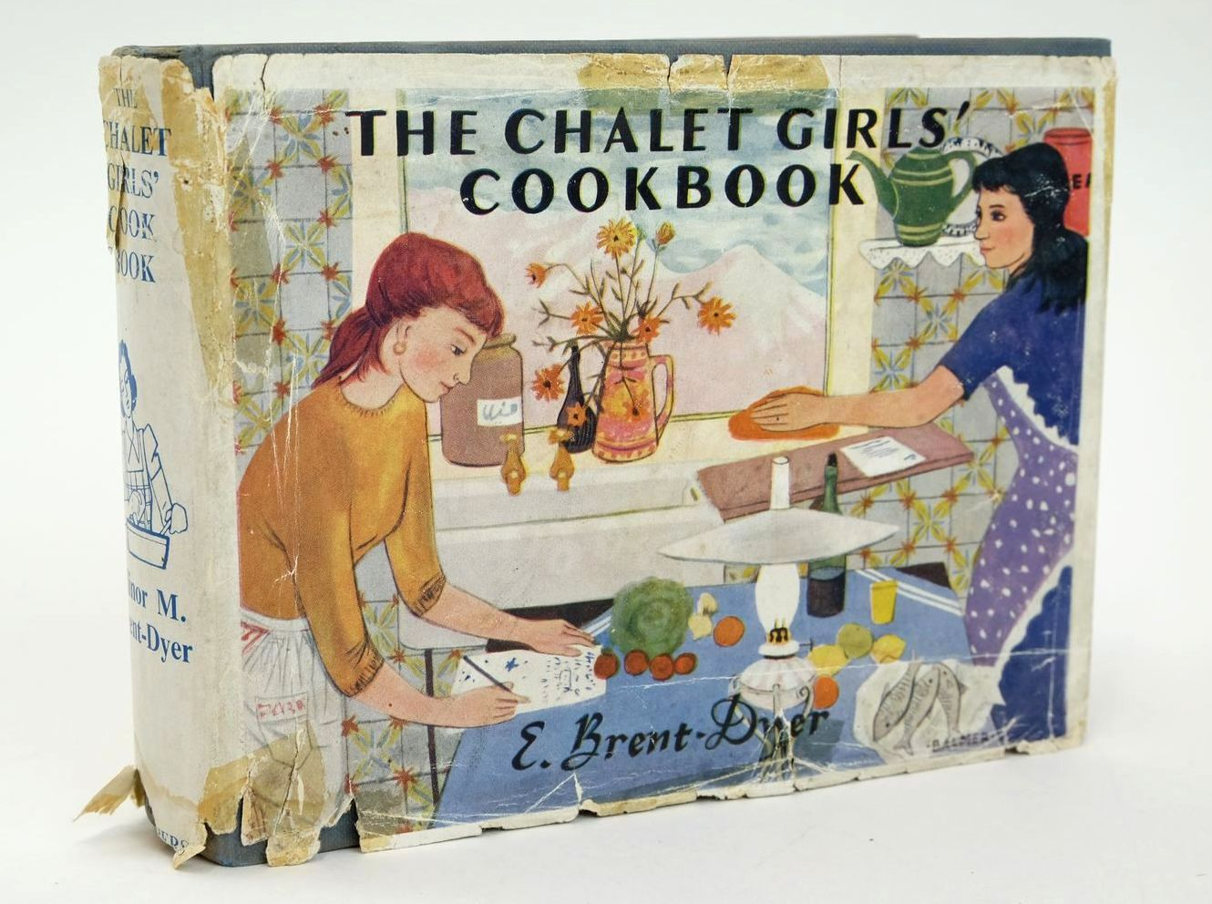 Photo of THE CHALET GIRLS' COOK BOOK written by Brent-Dyer, Elinor M. published by W. & R. Chambers Limited (STOCK CODE: 1319340)  for sale by Stella & Rose's Books