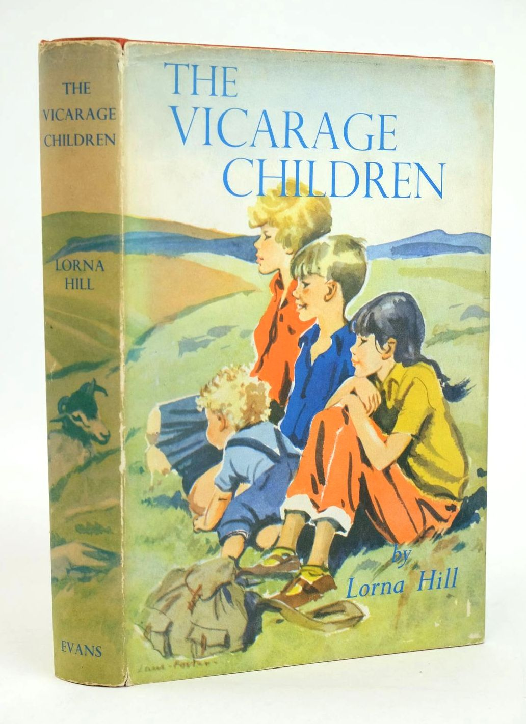 Photo of THE VICARAGE CHILDREN written by Hill, Lorna illustrated by Foster, Marcia Lane published by Evans Brothers Limited (STOCK CODE: 1319356)  for sale by Stella & Rose's Books