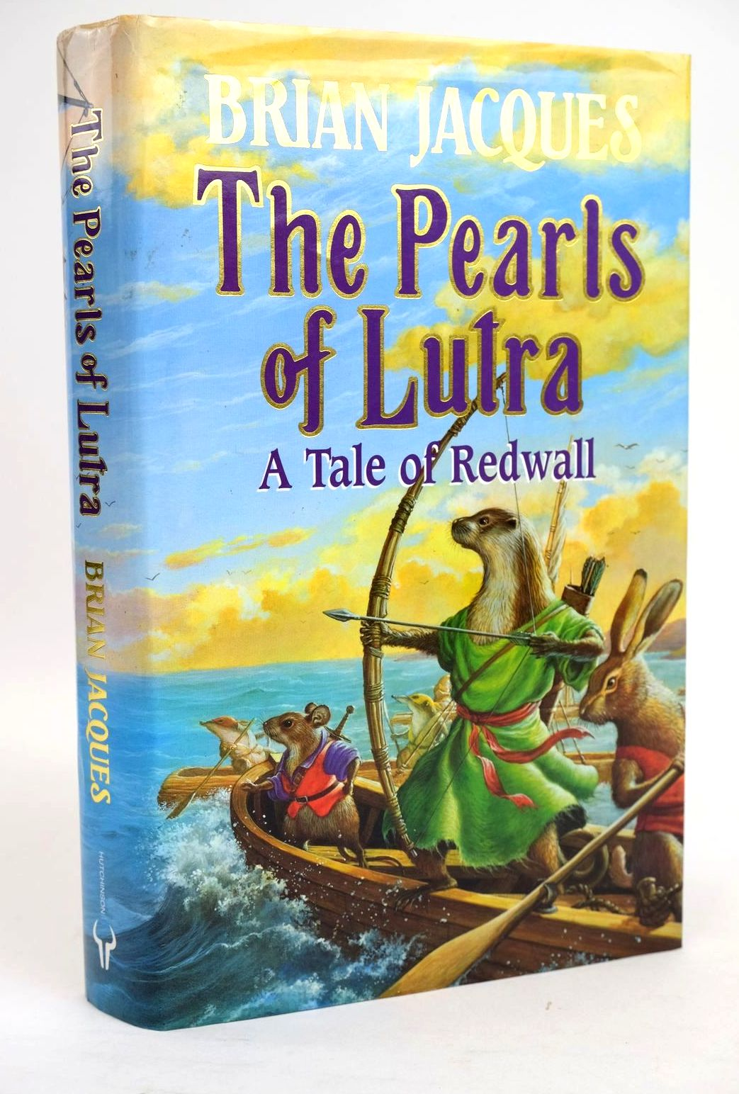 Photo of THE PEARLS OF LUTRA written by Jacques, Brian illustrated by Curless, Allan published by Hutchinson (STOCK CODE: 1319386)  for sale by Stella & Rose's Books