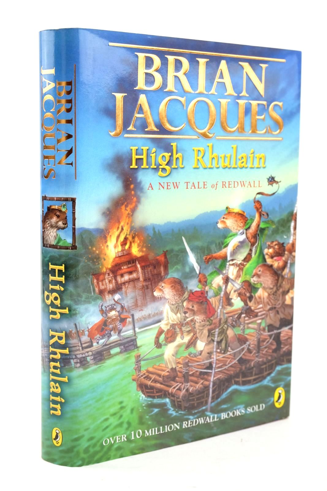 Photo of HIGH RHULAIN written by Jacques, Brian illustrated by Elliot, David published by Puffin Books (STOCK CODE: 1319392)  for sale by Stella & Rose's Books