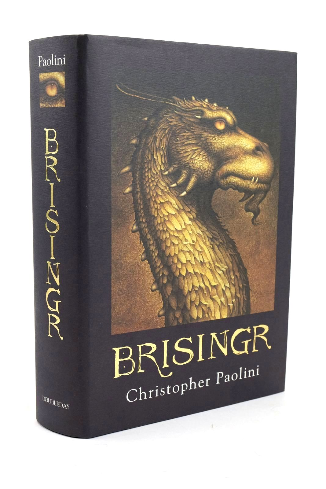 Photo of BRISINGR written by Paolini, Christopher published by Doubleday (STOCK CODE: 1319395)  for sale by Stella & Rose's Books