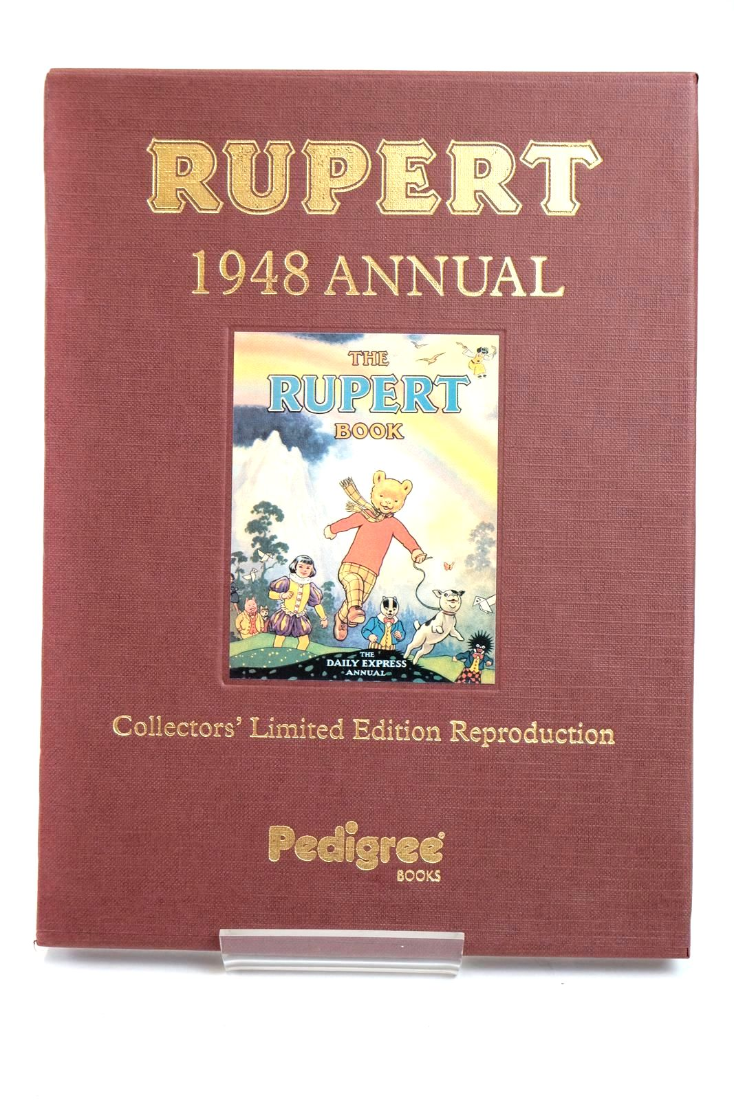 Photo of RUPERT ANNUAL 1948 (FACSIMILE) - THE RUPERT BOOK written by Bestall, Alfred illustrated by Bestall, Alfred published by Pedigree Books Limited (STOCK CODE: 1319409)  for sale by Stella & Rose's Books