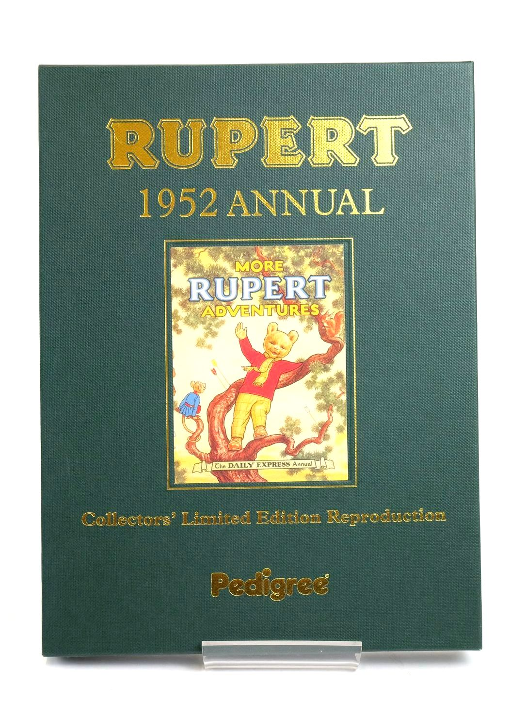 Photo of RUPERT ANNUAL 1952 (FACSIMILE) - MORE RUPERT ADVENTURES written by Bestall, Alfred illustrated by Bestall, Alfred published by Pedigree Books Limited (STOCK CODE: 1319410)  for sale by Stella & Rose's Books
