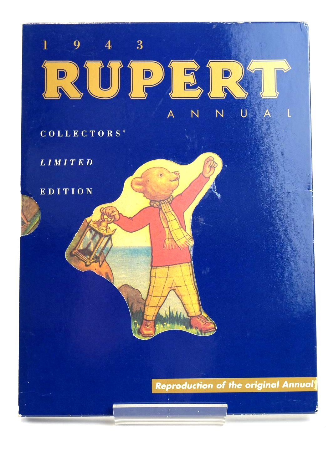 Photo of RUPERT ANNUAL 1943 (FACSIMILE) - MORE RUPERT ADVENTURES written by Bestall, Alfred illustrated by Bestall, Alfred published by Pedigree Books Limited (STOCK CODE: 1319412)  for sale by Stella & Rose's Books
