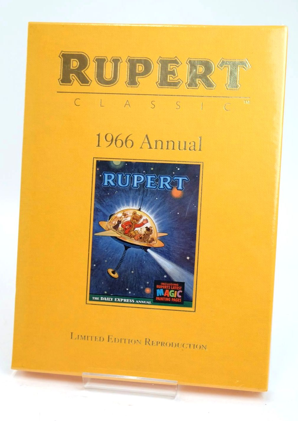 Photo of RUPERT ANNUAL 1966 (FACSIMILE) written by Bestall, Alfred illustrated by Bestall, Alfred published by Egmont Children's Books Ltd. (STOCK CODE: 1319413)  for sale by Stella & Rose's Books