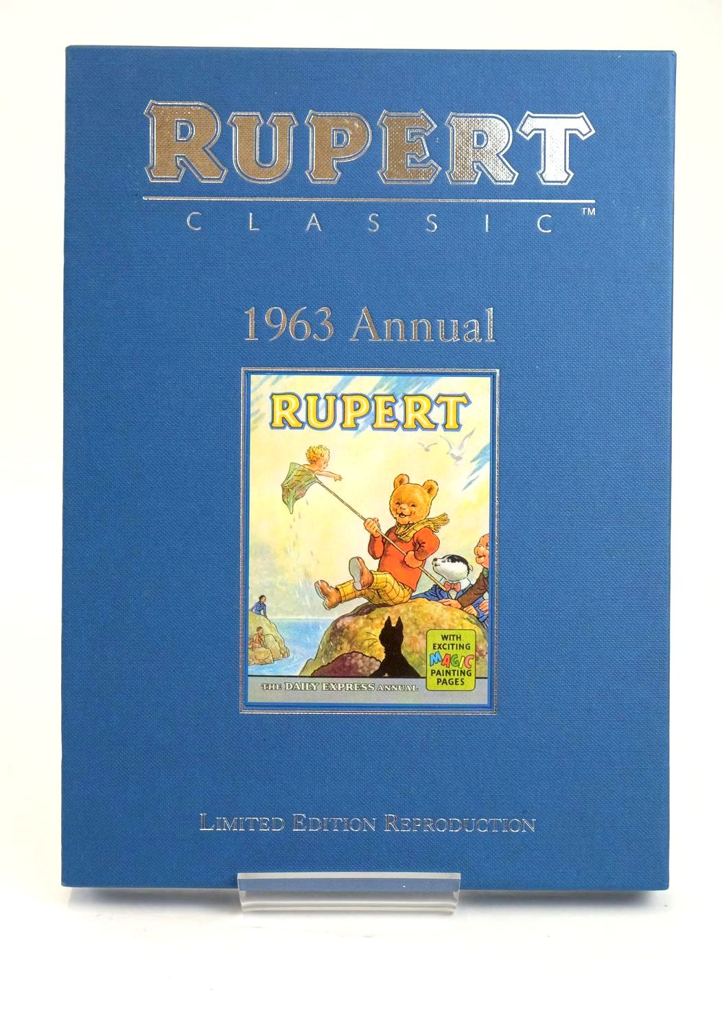 Photo of RUPERT ANNUAL 1963 (FACSIMILE) written by Bestall, Alfred illustrated by Bestall, Alfred published by Egmont Children's Books Ltd. (STOCK CODE: 1319414)  for sale by Stella & Rose's Books