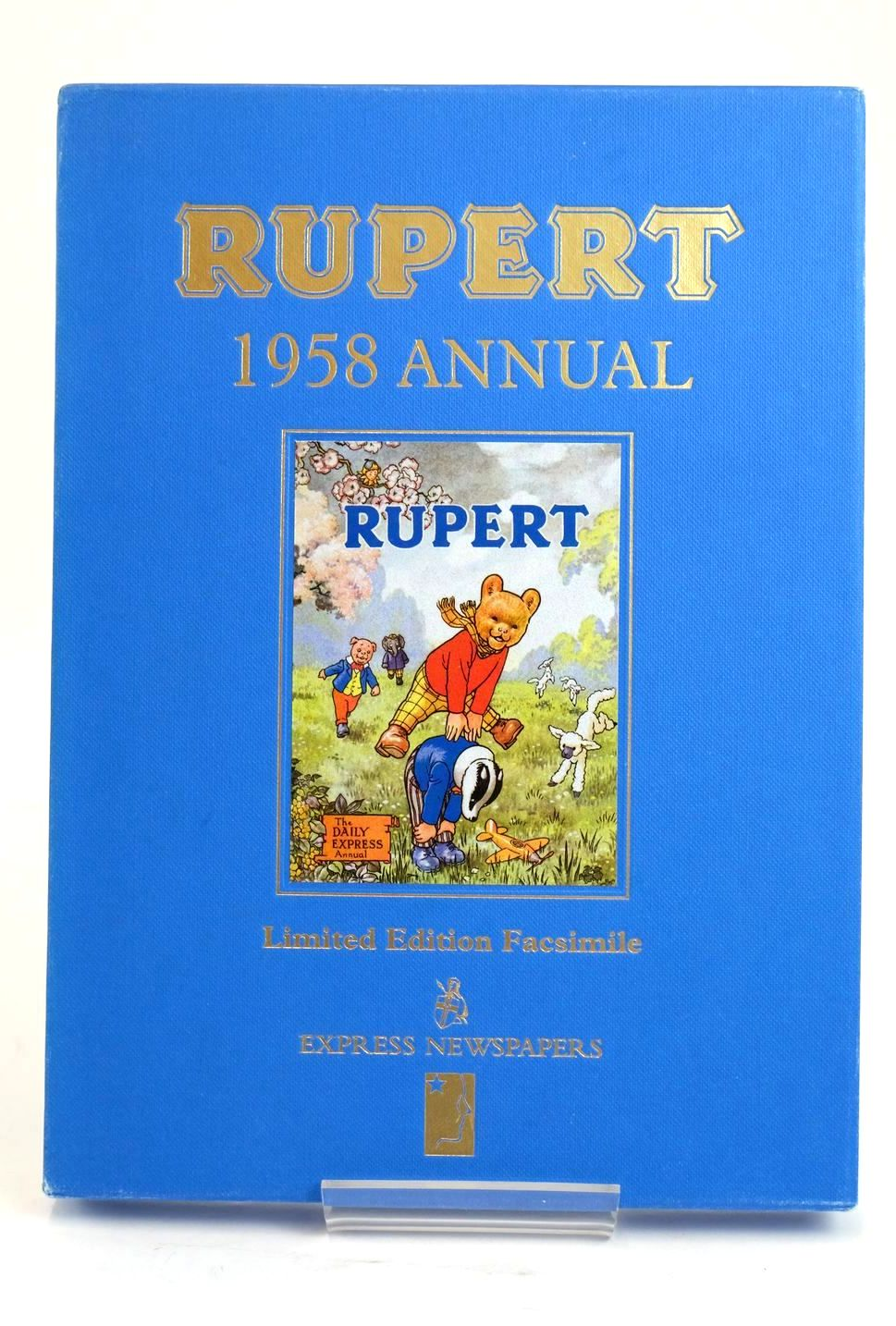 Photo of RUPERT ANNUAL 1958 (FACSIMILE) written by Bestall, Alfred illustrated by Bestall, Alfred published by Express Newspapers Ltd. (STOCK CODE: 1319415)  for sale by Stella & Rose's Books