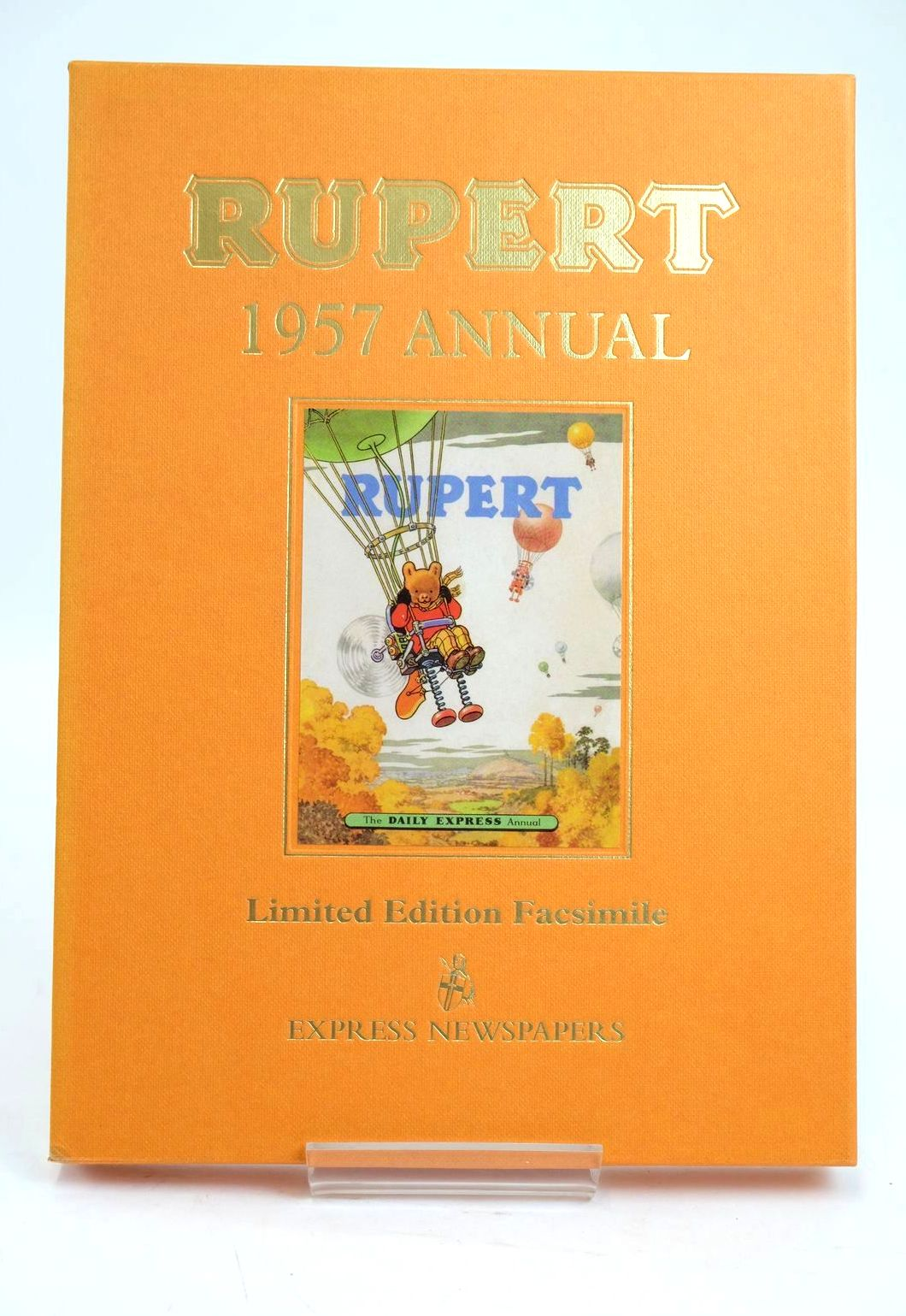 Photo of RUPERT ANNUAL 1957 (FACSIMILE) written by Bestall, Alfred illustrated by Bestall, Alfred published by Express Newspapers Ltd. (STOCK CODE: 1319418)  for sale by Stella & Rose's Books