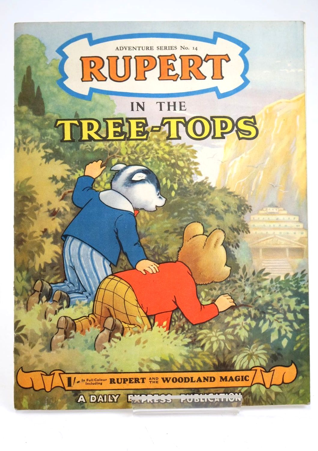 Photo of RUPERT ADVENTURE SERIES No. 14 - RUPERT IN THE TREE TOPS- Stock Number: 1319420