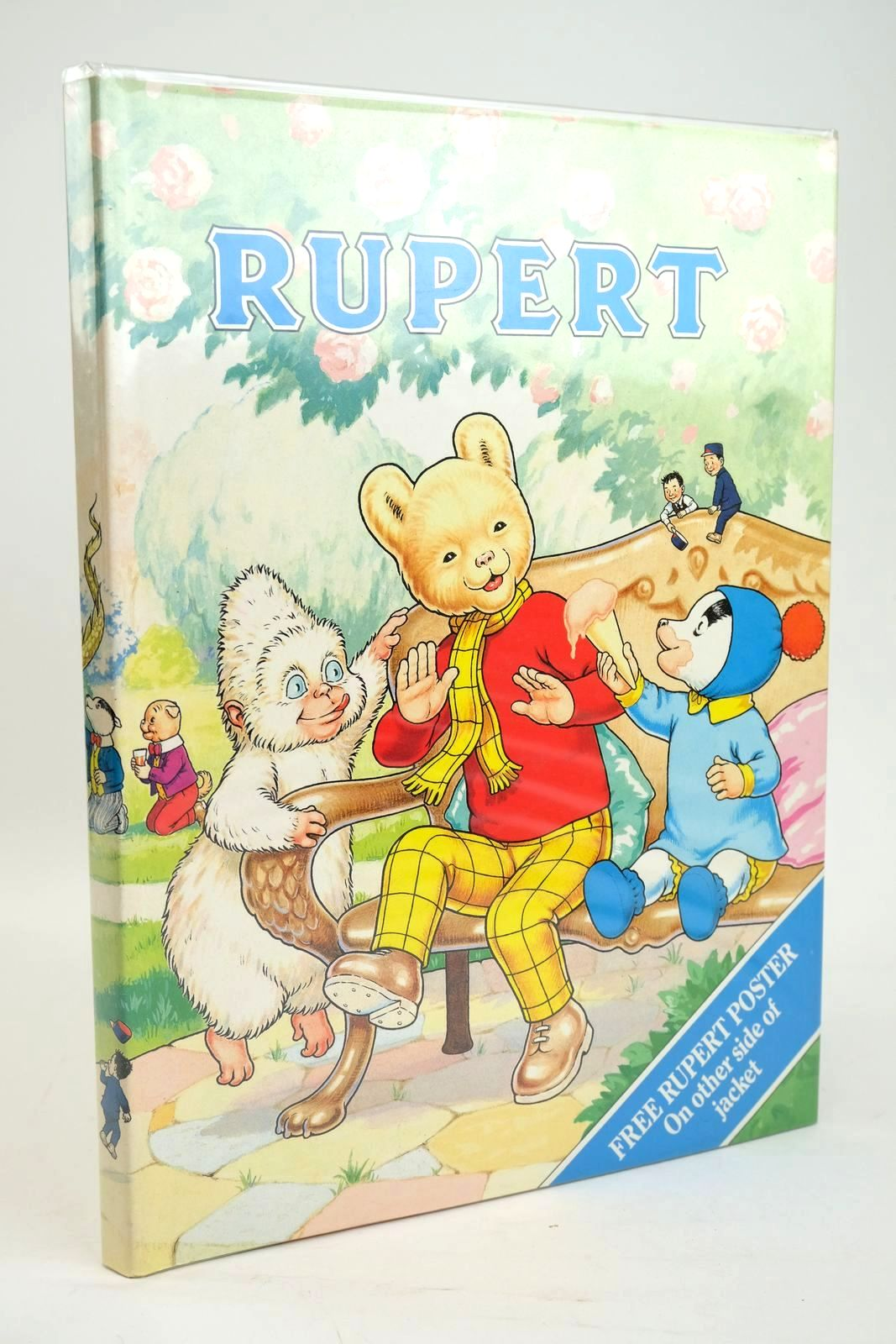 Photo of RUPERT ANNUAL 1990 written by Henderson, James illustrated by Harrold, John published by Daily Express (STOCK CODE: 1319421)  for sale by Stella & Rose's Books