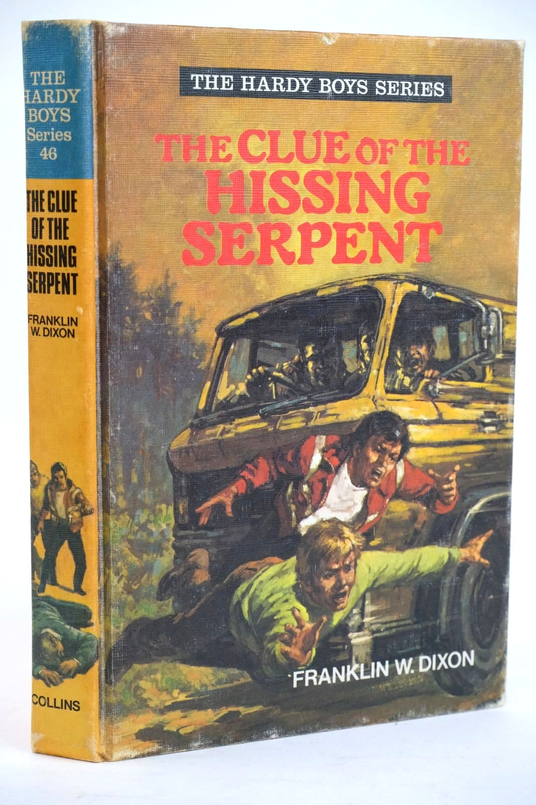 Photo of THE CLUE OF THE HISSING SERPENT- Stock Number: 1319428