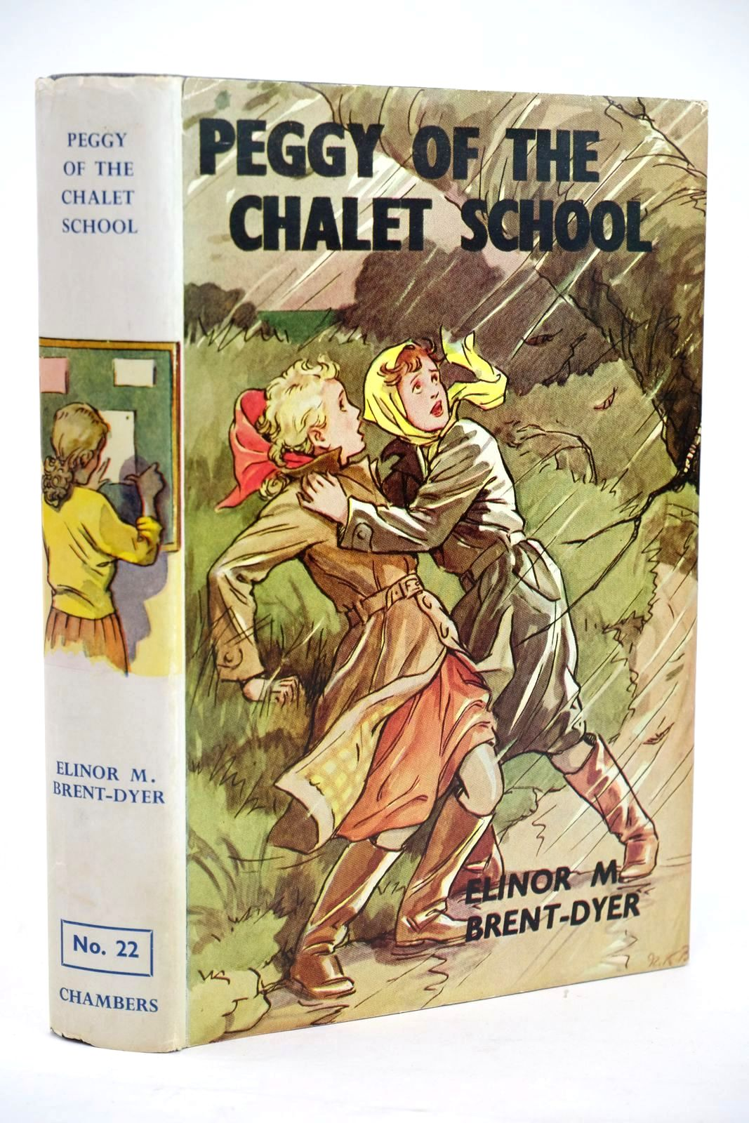 Photo of PEGGY OF THE CHALET SCHOOL written by Brent-Dyer, Elinor M. illustrated by Brisley, Nina K. published by W. & R. Chambers Limited (STOCK CODE: 1319431)  for sale by Stella & Rose's Books