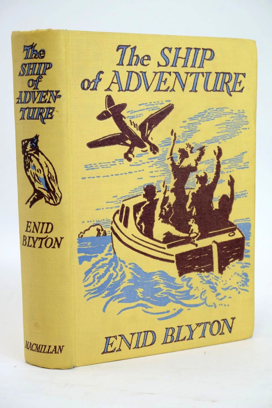 Photo of THE SHIP OF ADVENTURE written by Blyton, Enid illustrated by Tresilian, Stuart published by Macmillan & Co. Ltd. (STOCK CODE: 1319434)  for sale by Stella & Rose's Books